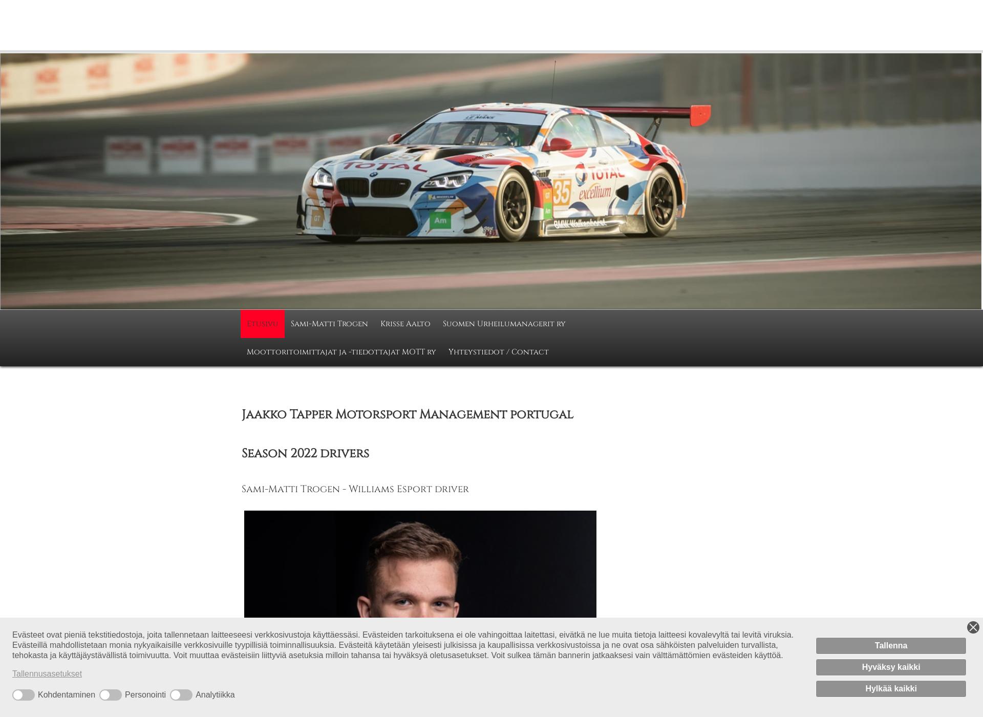 Screenshot for autotarjotin.fi