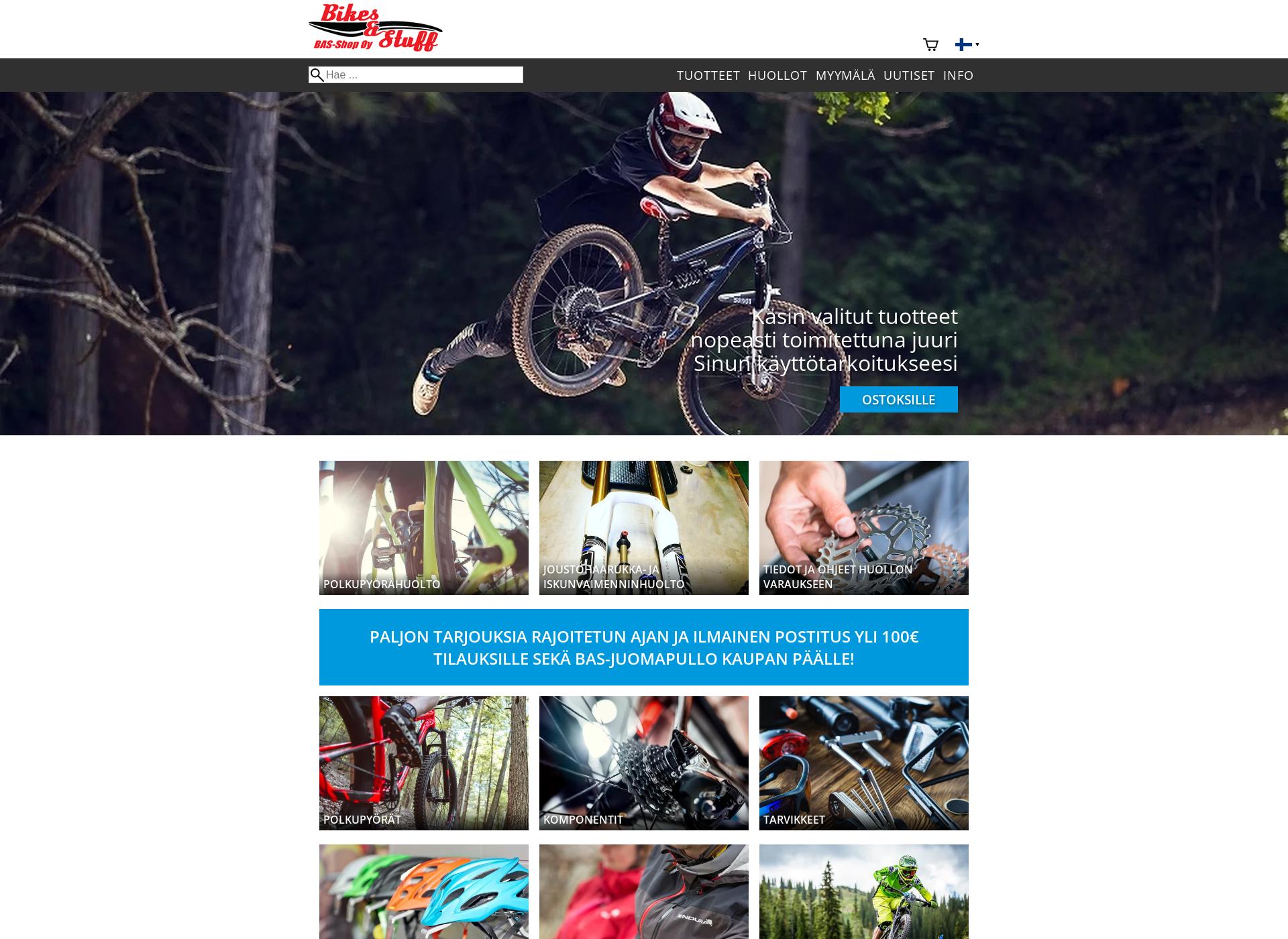 Screenshot for bas-shop.fi