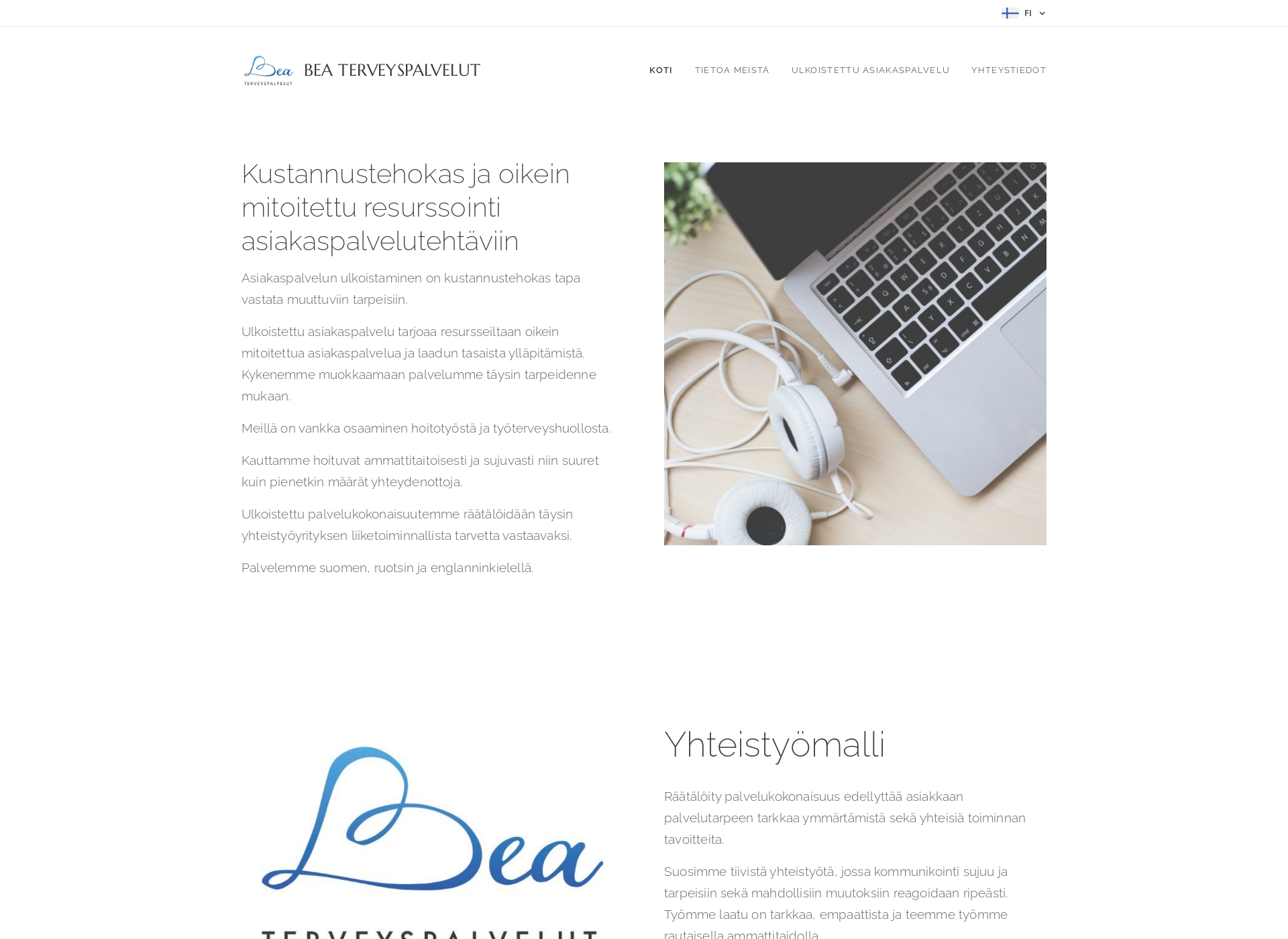 Screenshot for beaterveys.fi