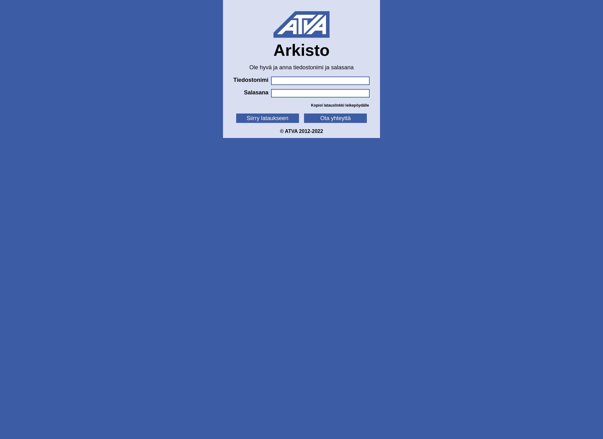 Screenshot for blindbird.fi