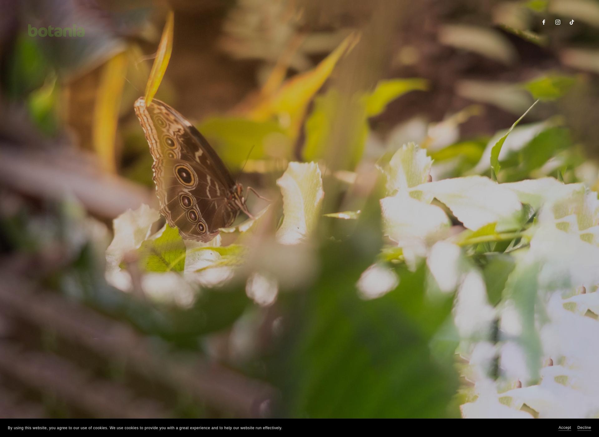 Screenshot for botania.fi