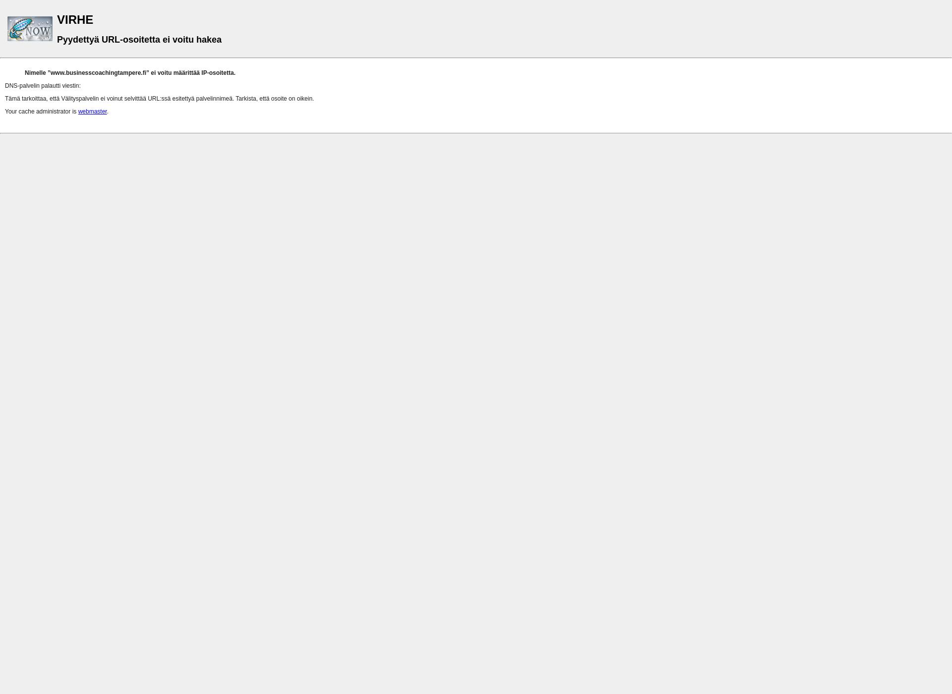 Screenshot for businesscoachingtampere.fi