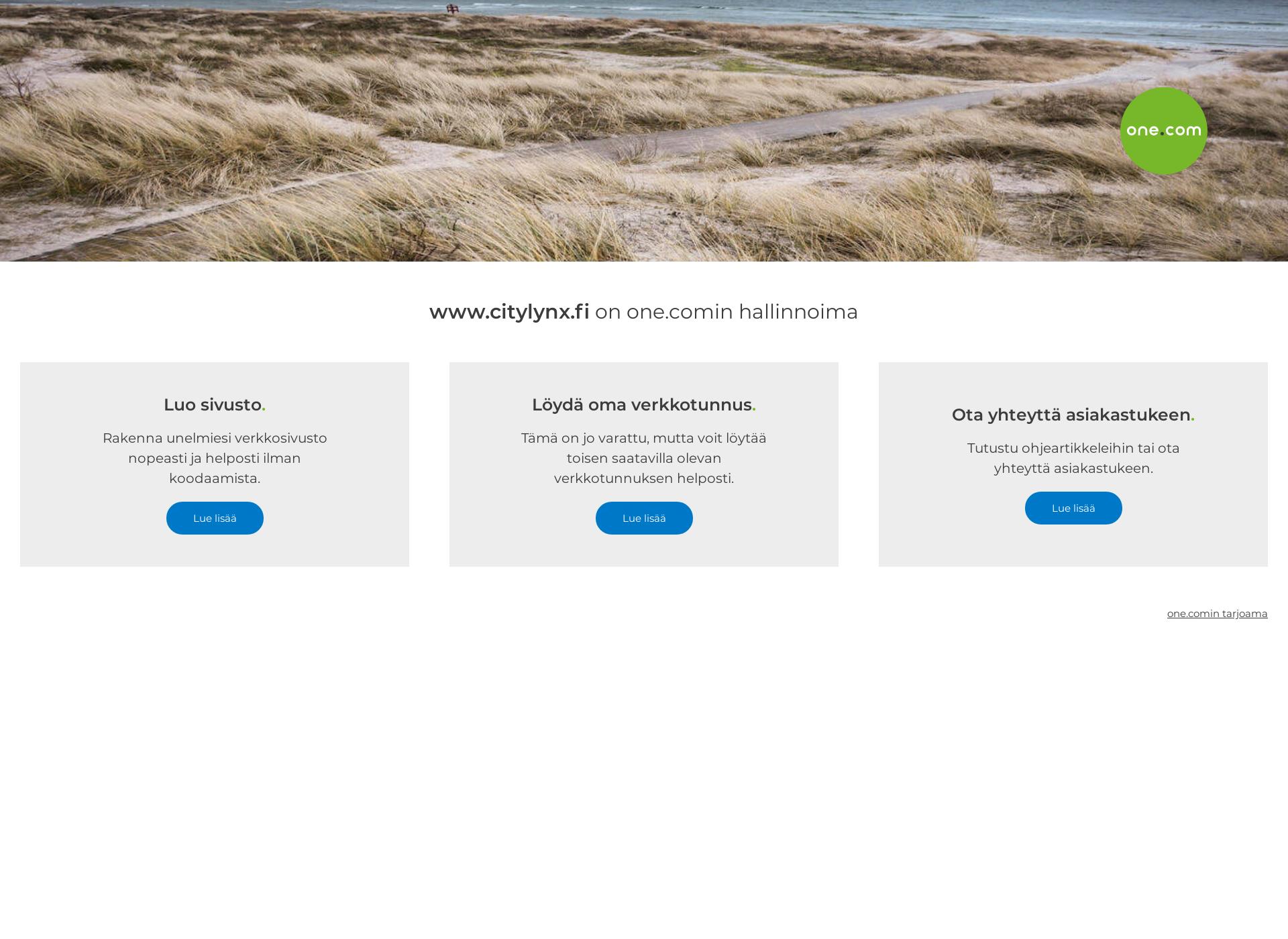 Screenshot for citylynx.fi
