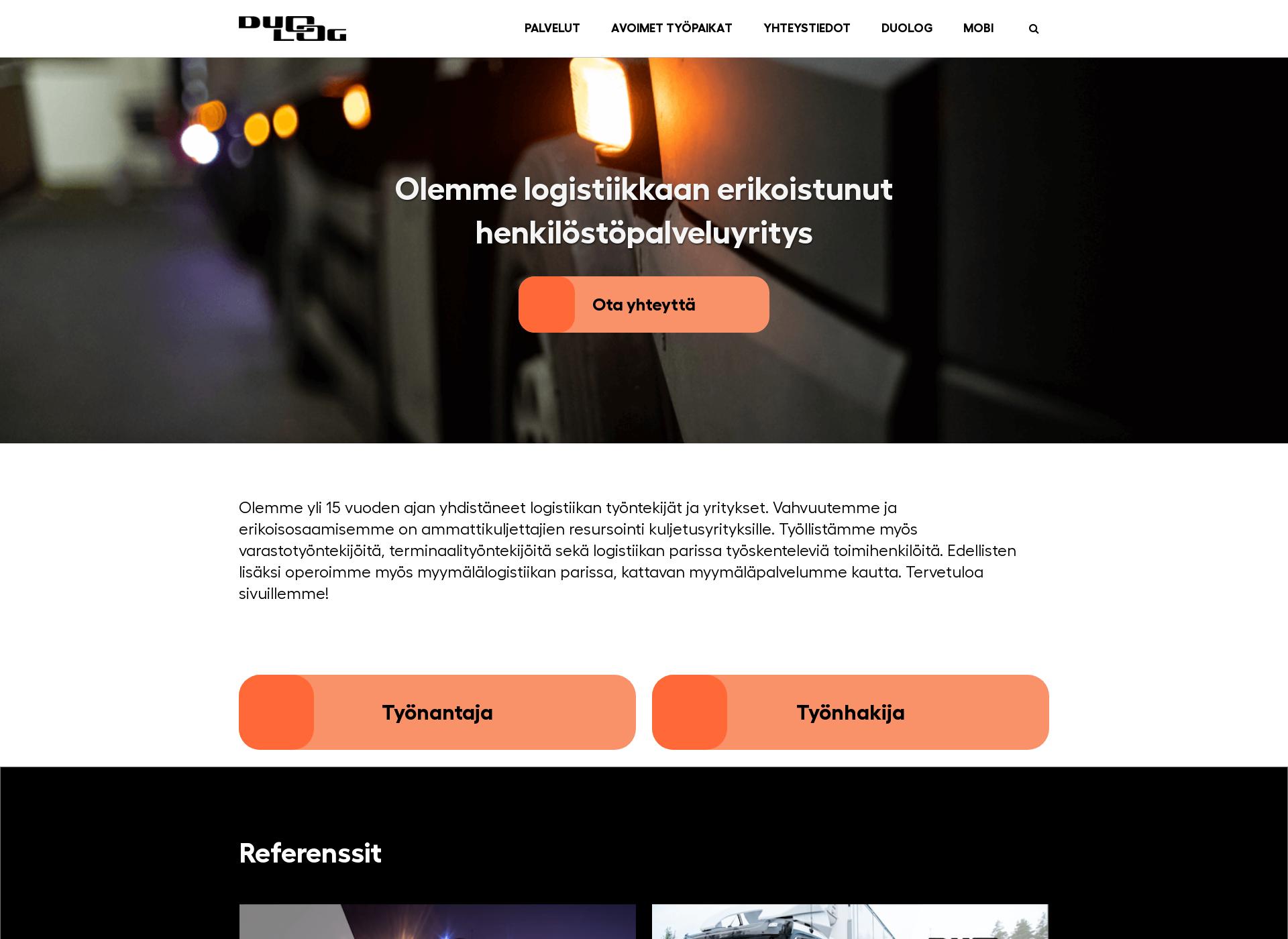 Screenshot for duolog.fi