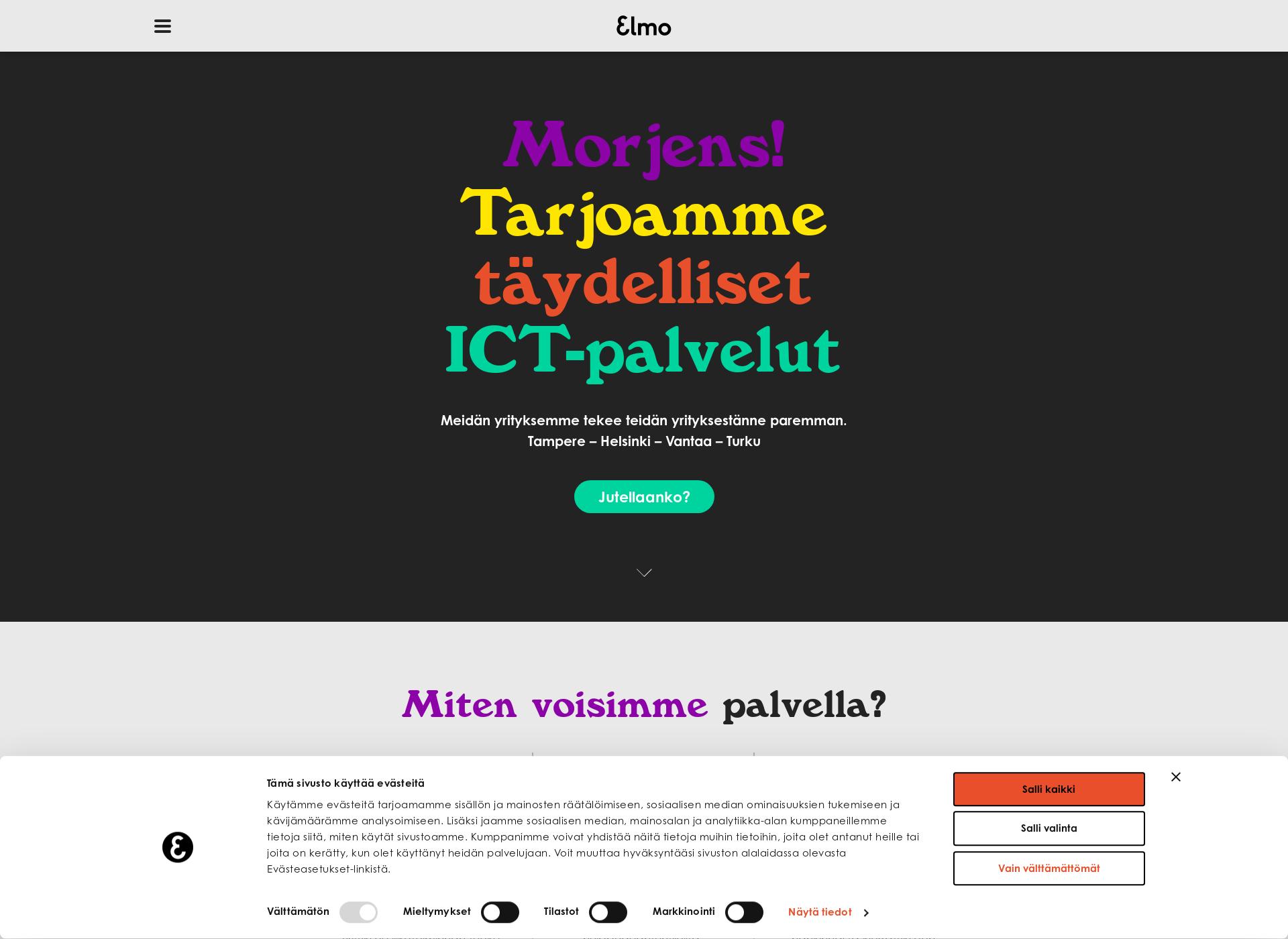 Screenshot for elmo.fi