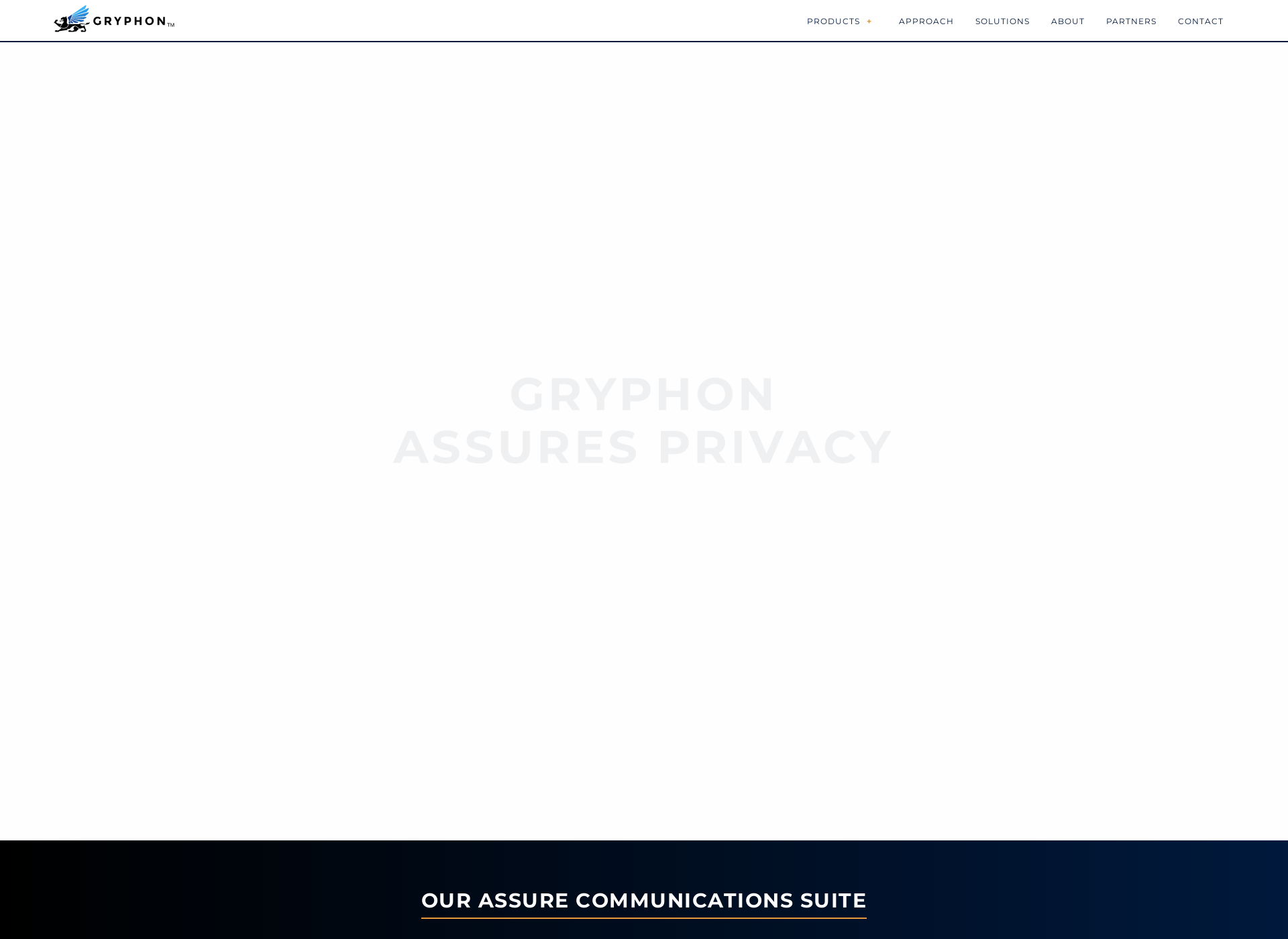 Screenshot for gryphonsecure.com