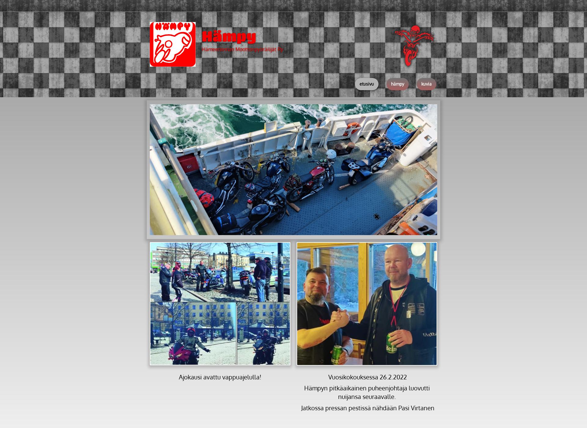 Screenshot for hampy.fi