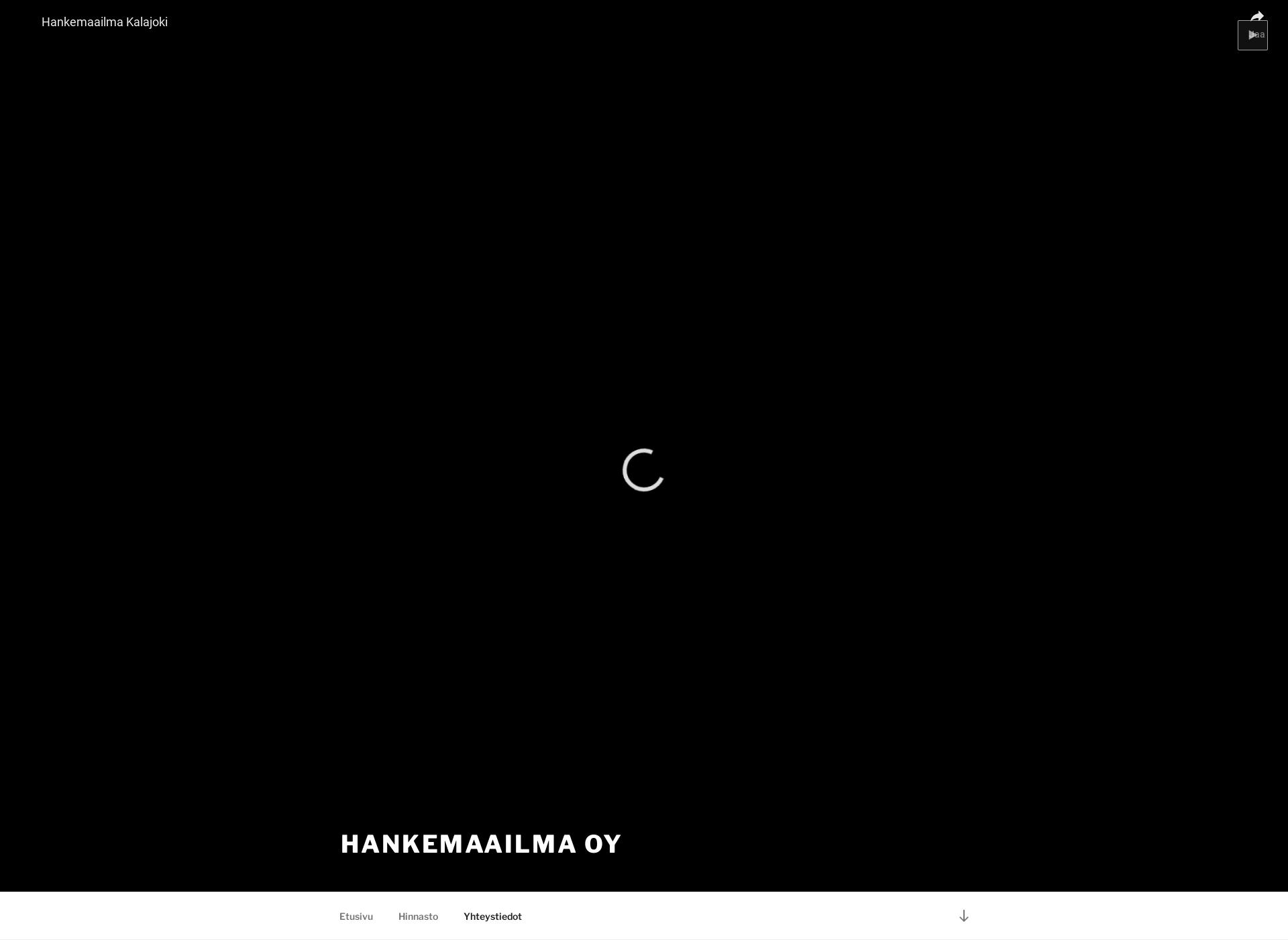 Screenshot for hankemaailma.fi