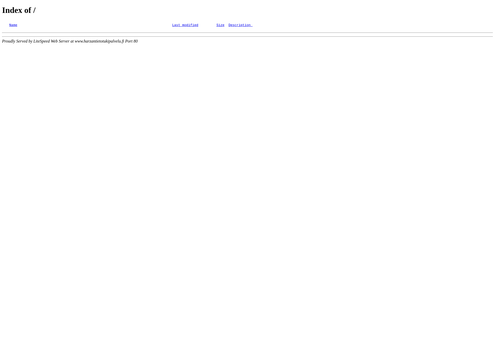 Screenshot for harzantietotukipalvelu.fi