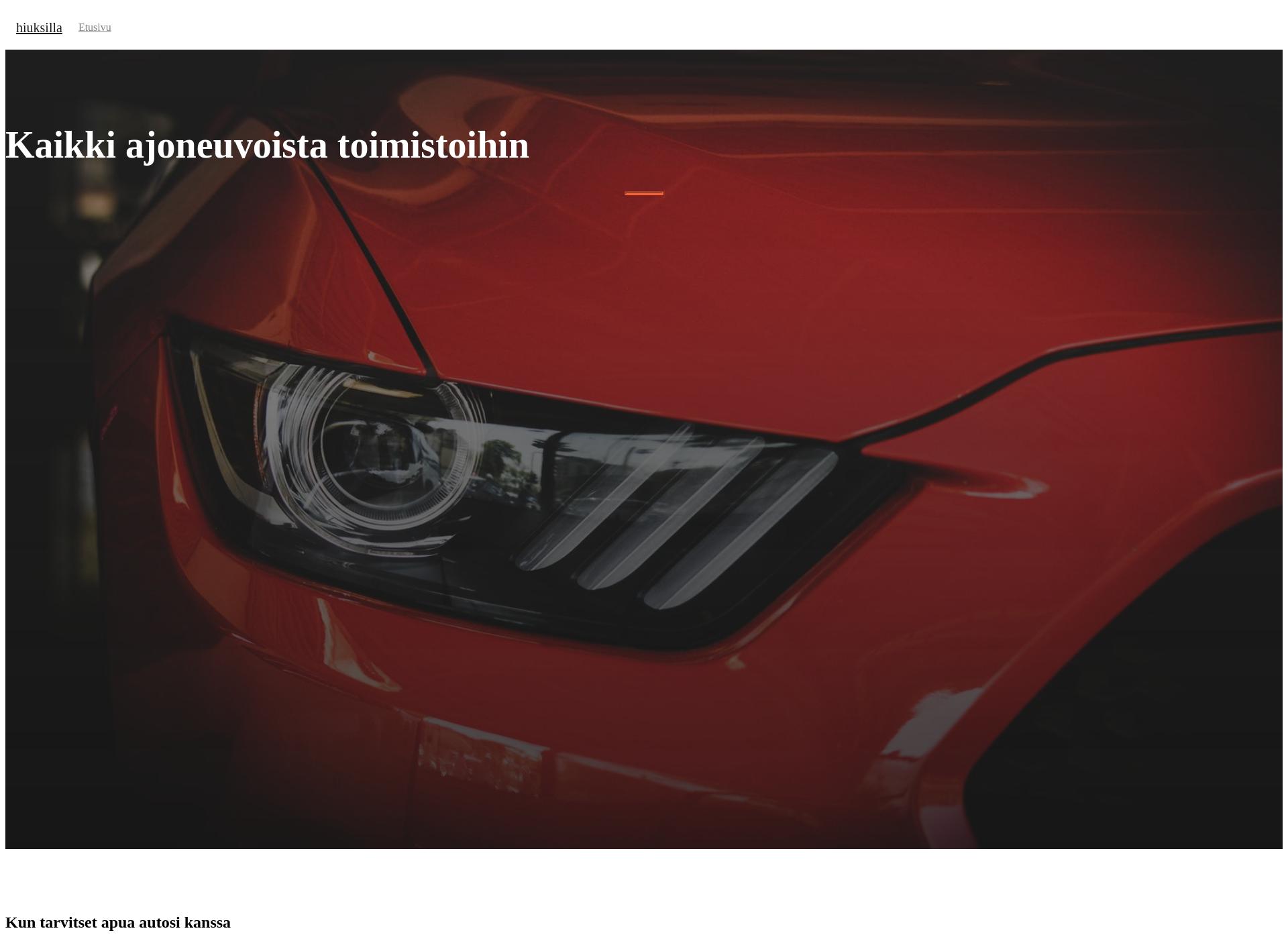 Screenshot for hiuksillahyvaa.fi