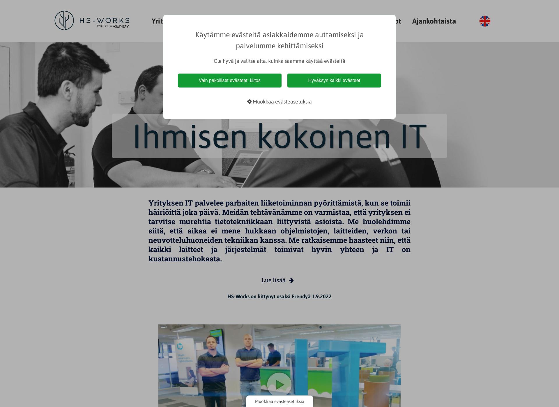 Screenshot for hs-works.fi