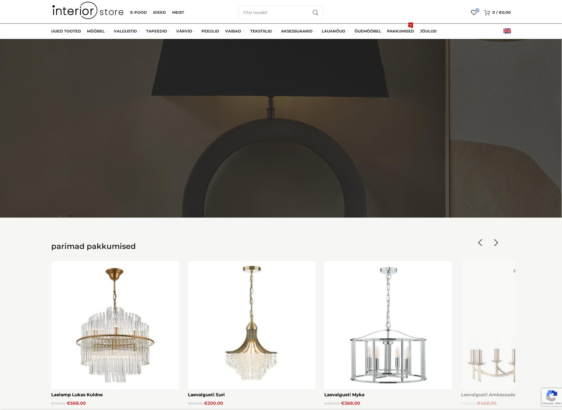 Screenshot for interiorstore.fi