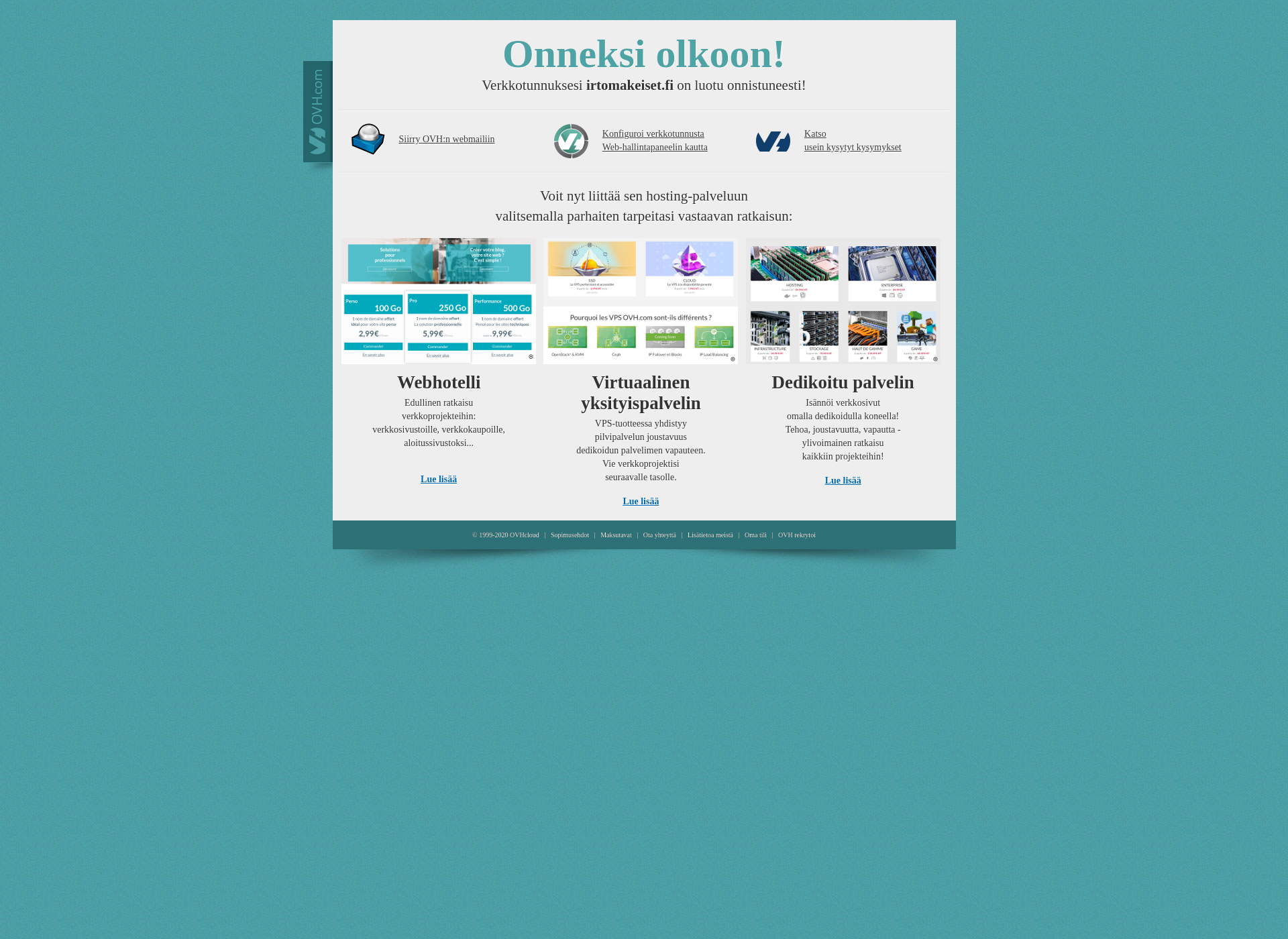 Screenshot for irtomakeiset.fi