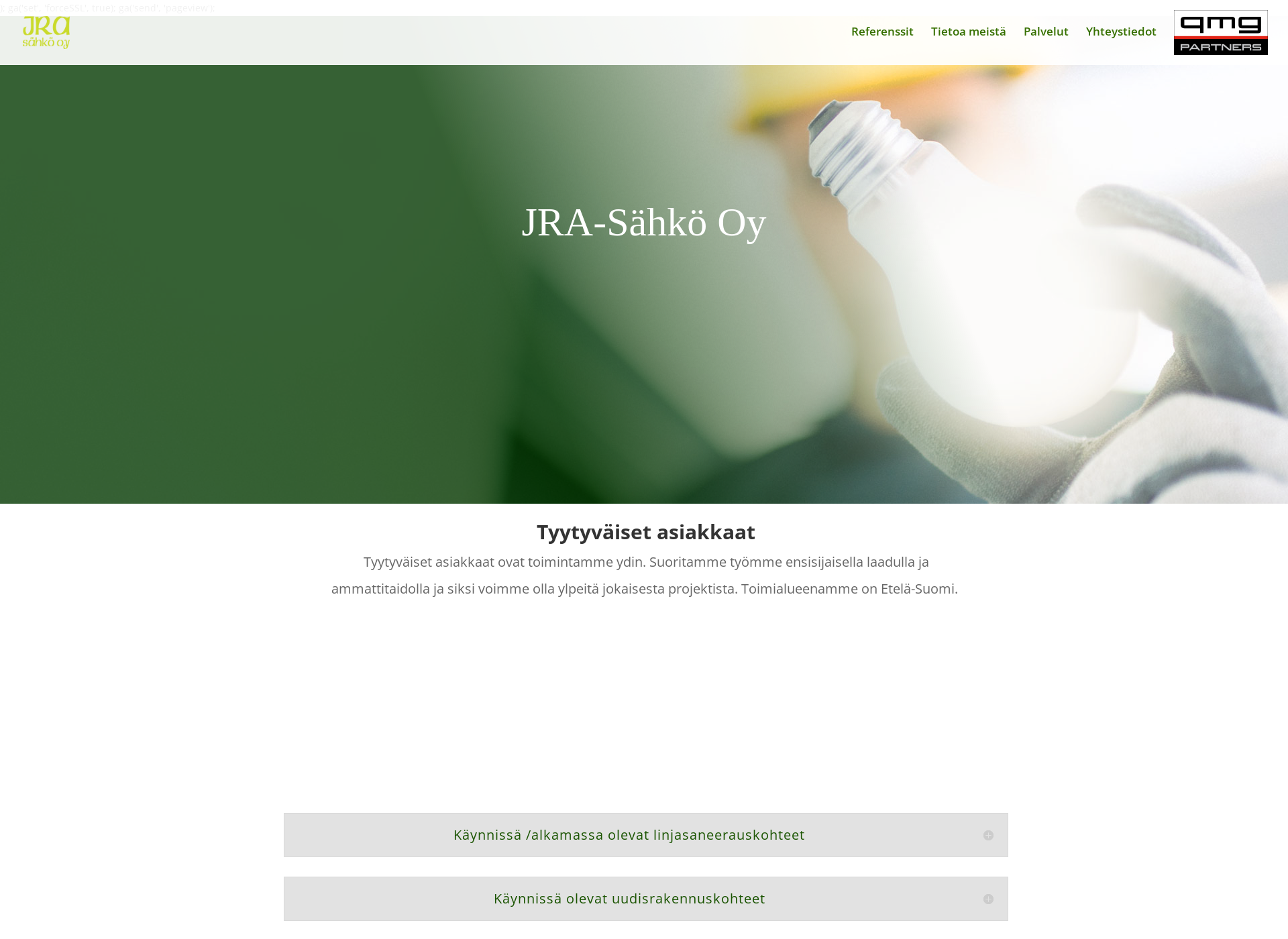 Screenshot for jra-sahko.fi