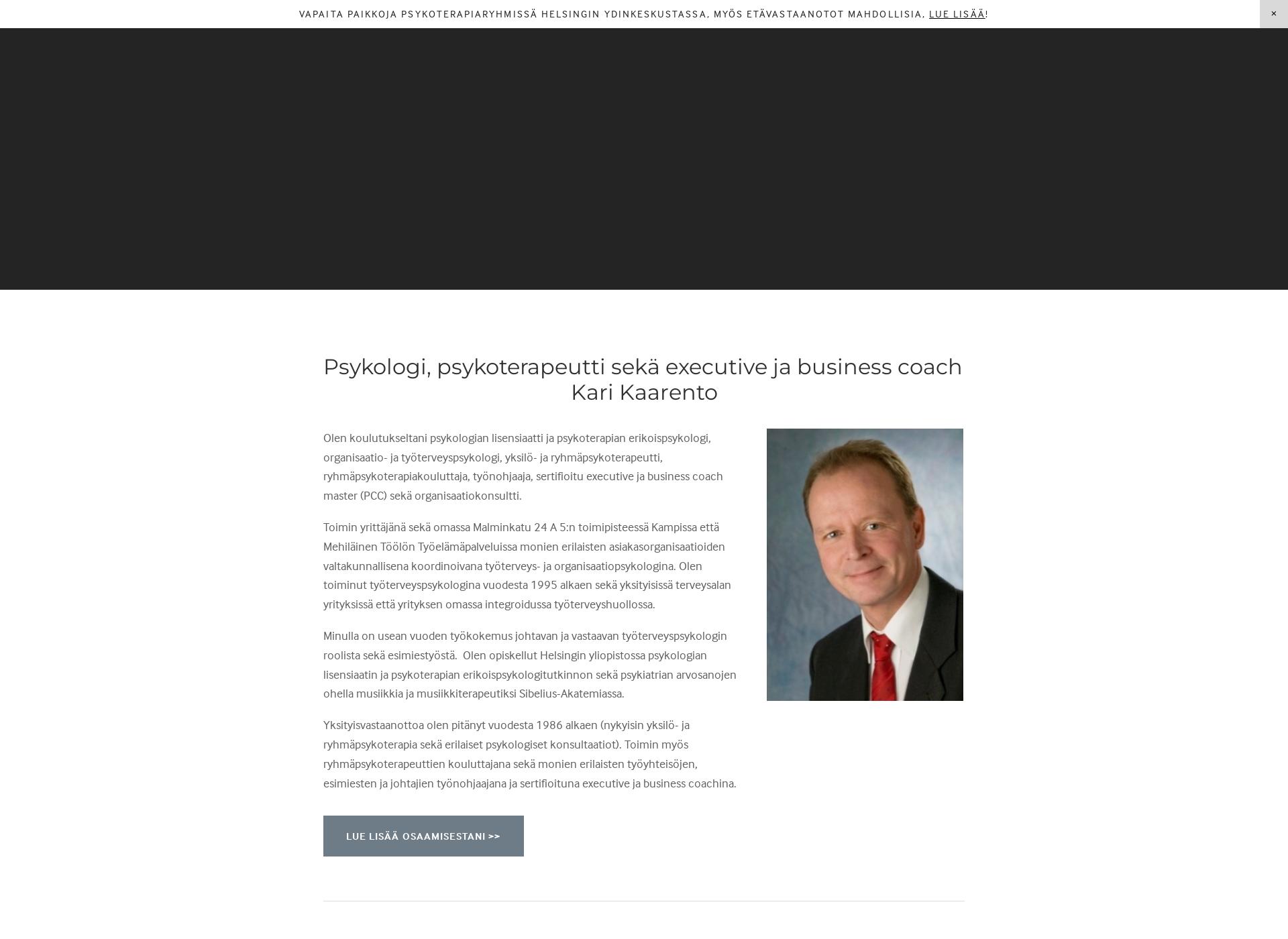 Screenshot for karikaarento.fi