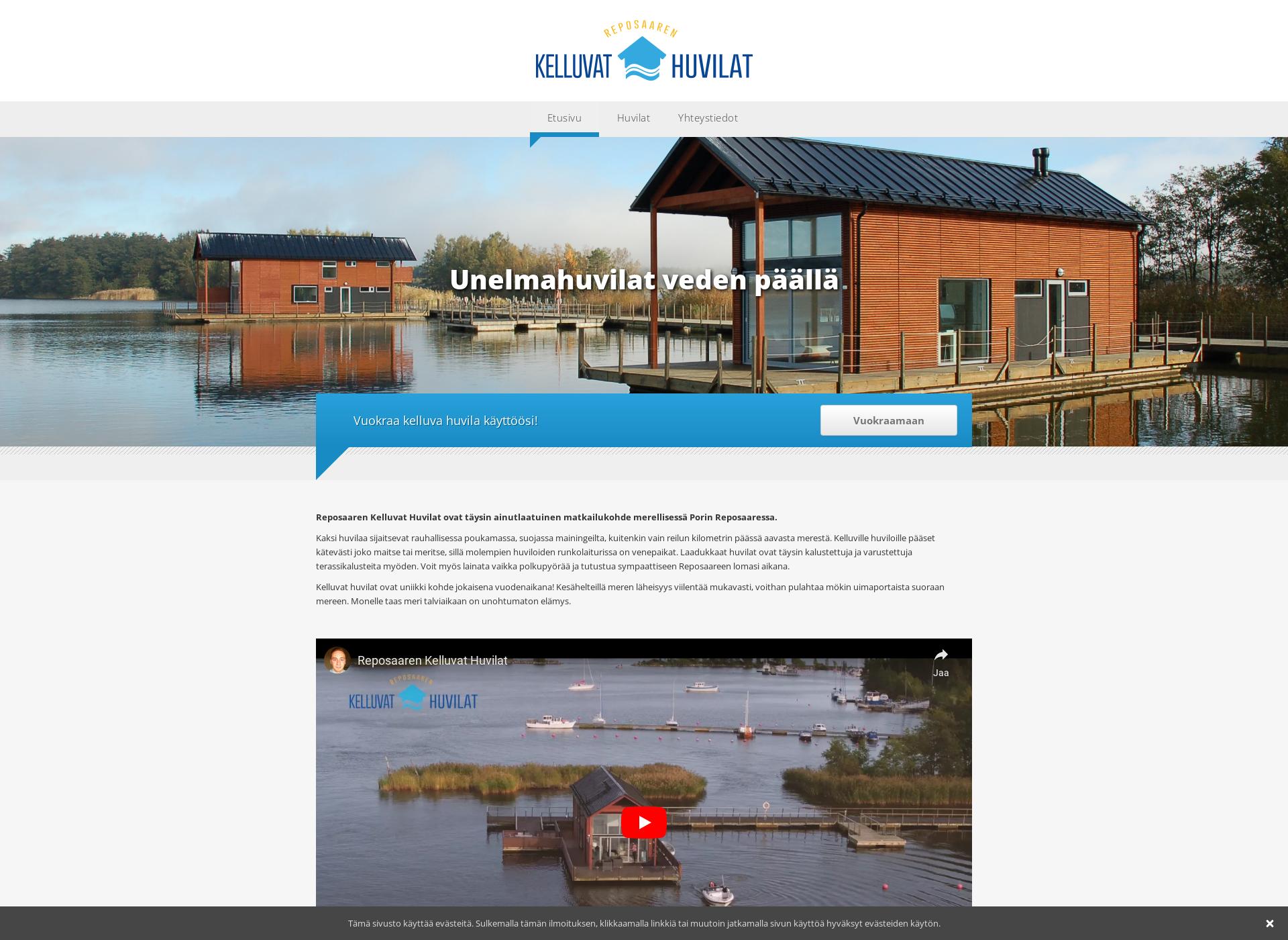 Screenshot for kelluvathuvilat.fi