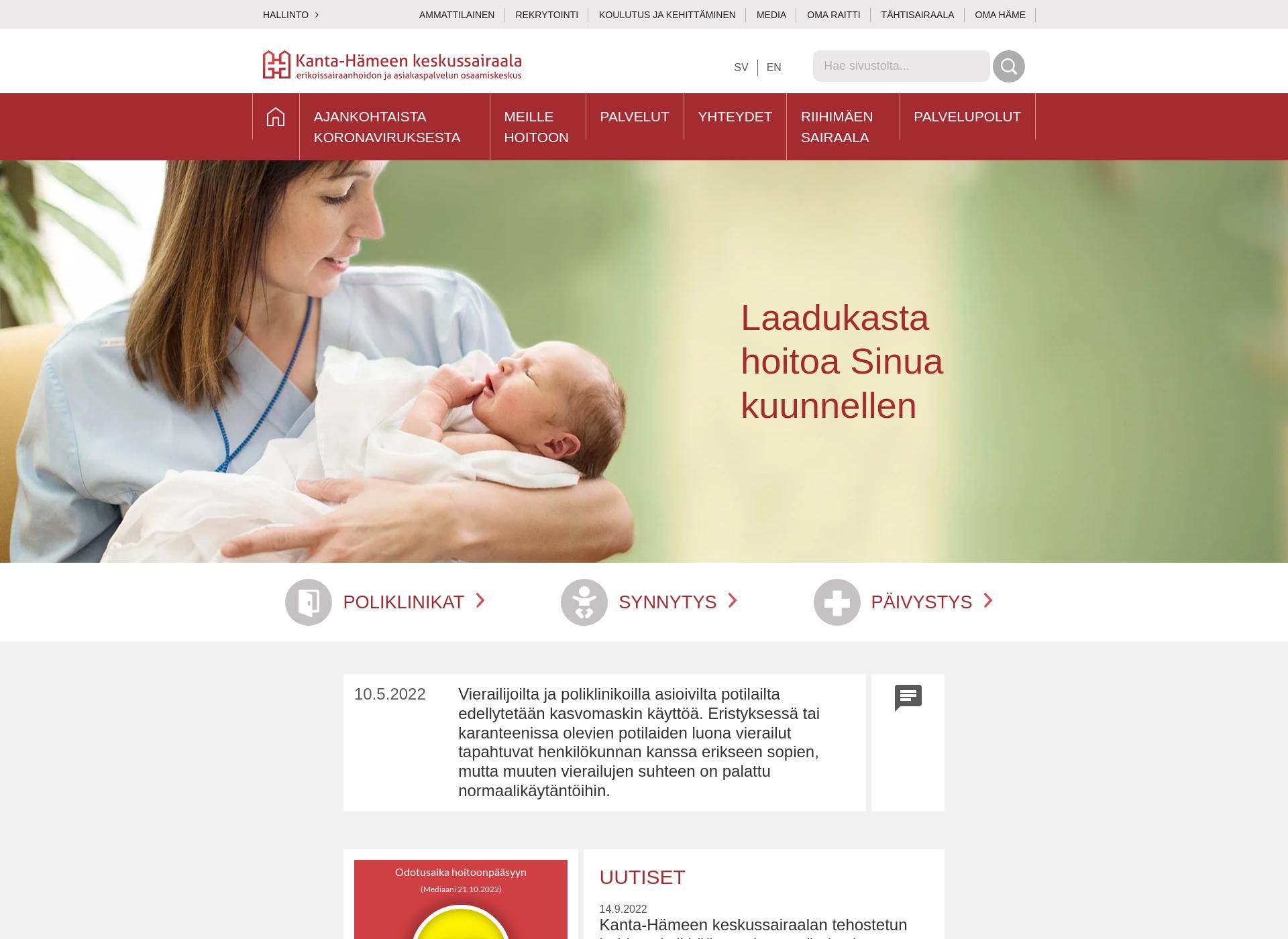 Screenshot for khshp.fi