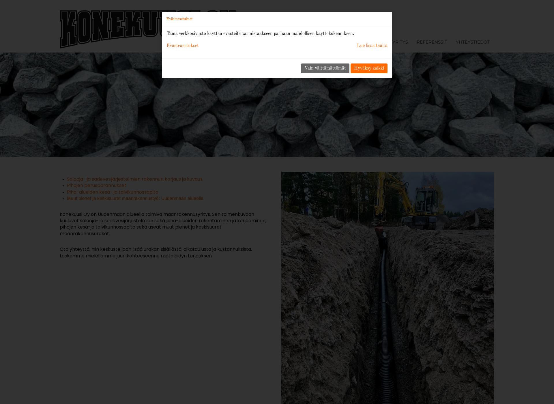 Screenshot for konekuusi.fi