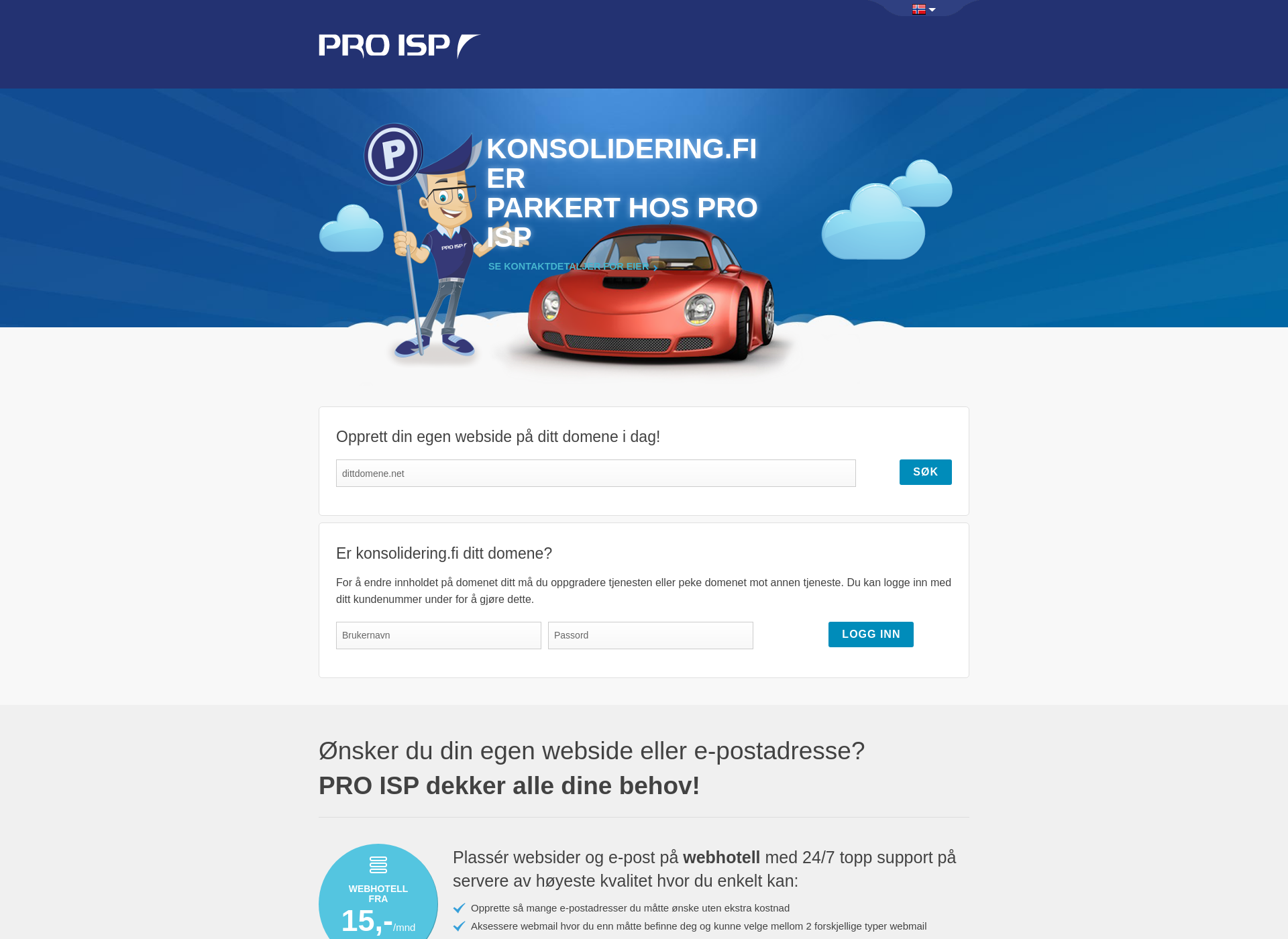 Screenshot for konsolidering.fi