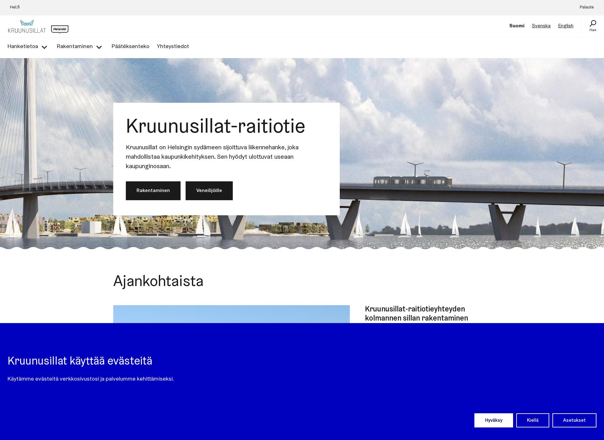 Screenshot for kruunusillat.fi