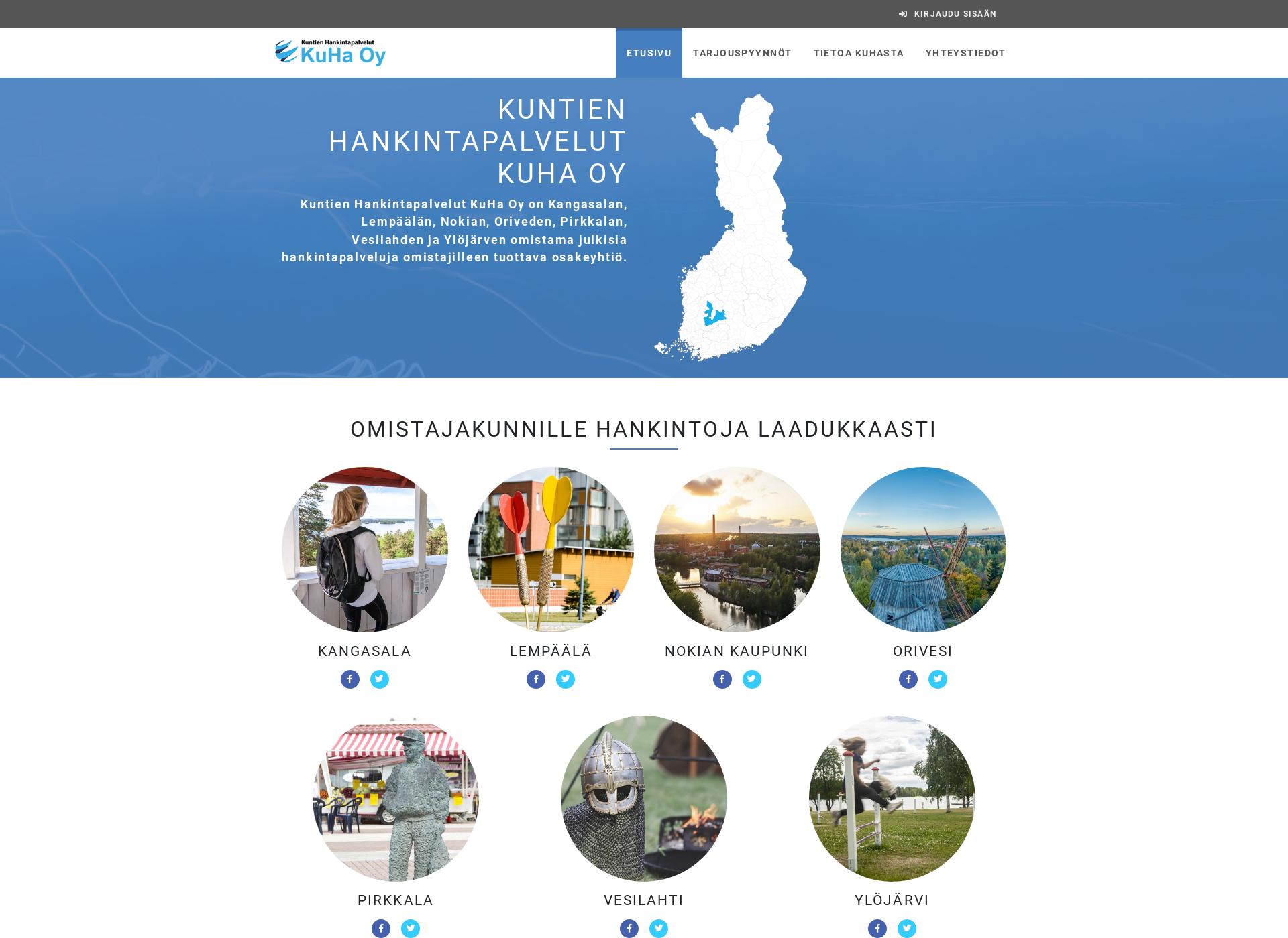Screenshot for kuhaoy.fi