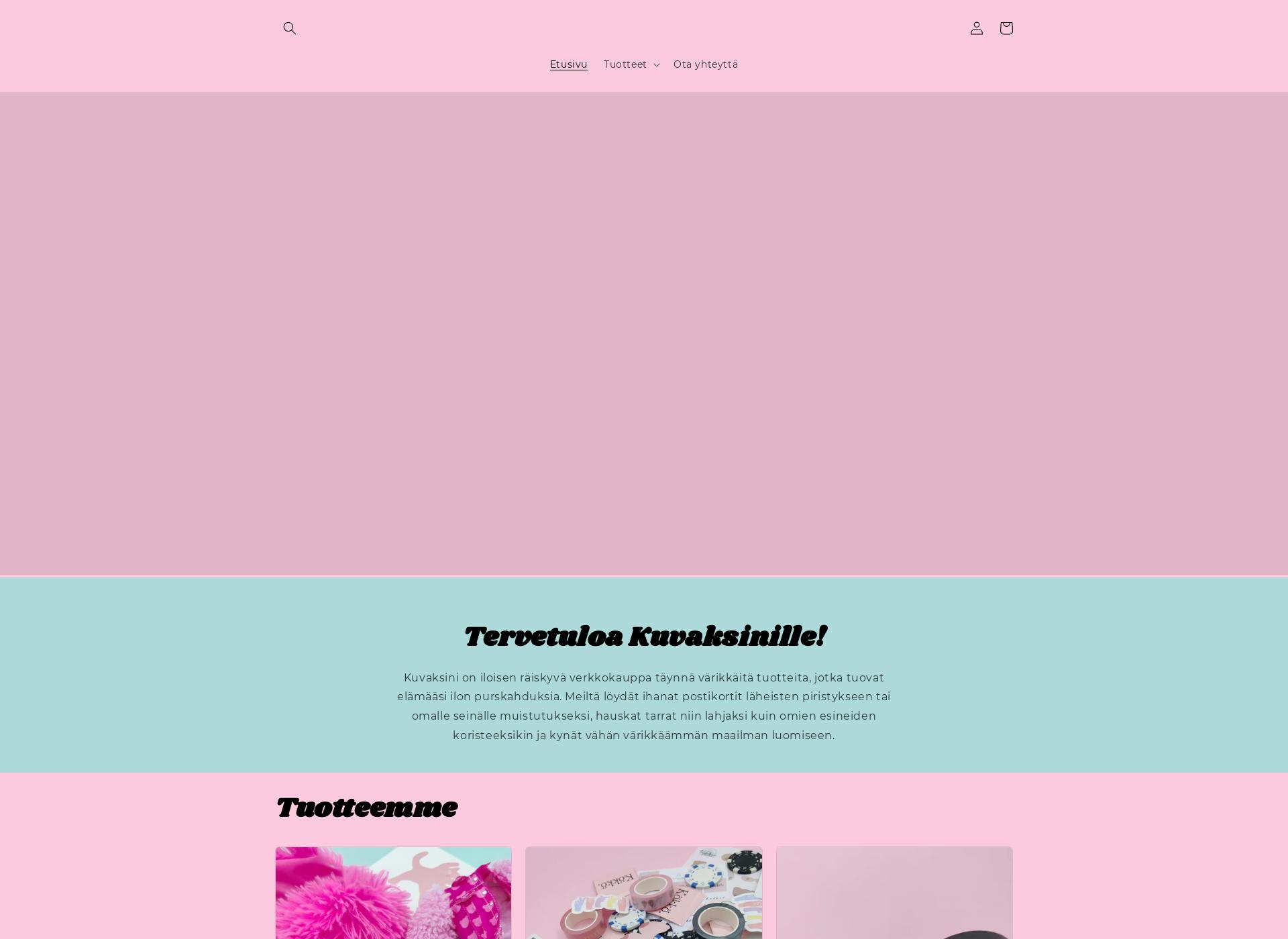 Screenshot for kuvaksini.fi