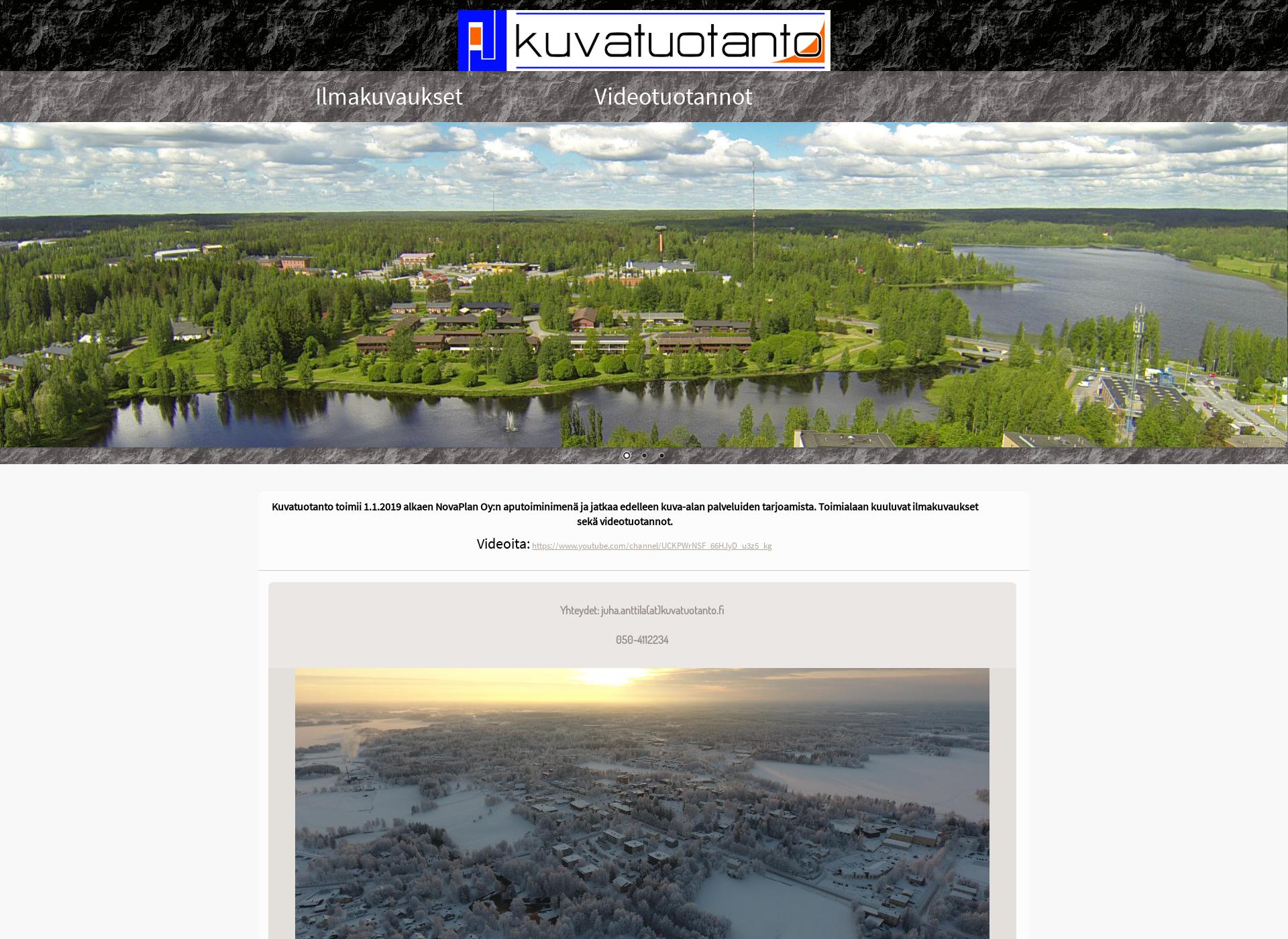 Screenshot for kuvatuotanto.fi