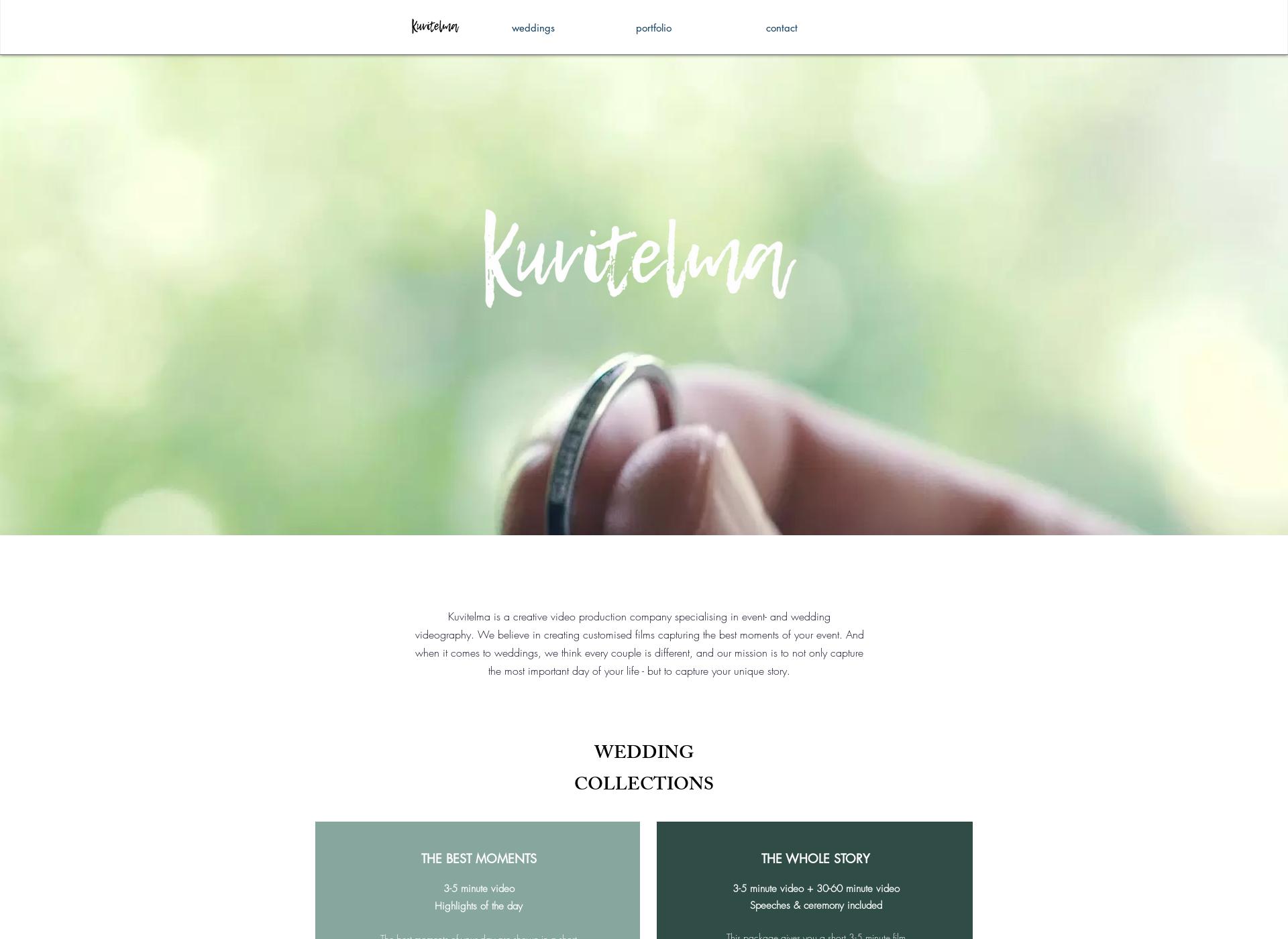 Screenshot for kuvitelma.fi
