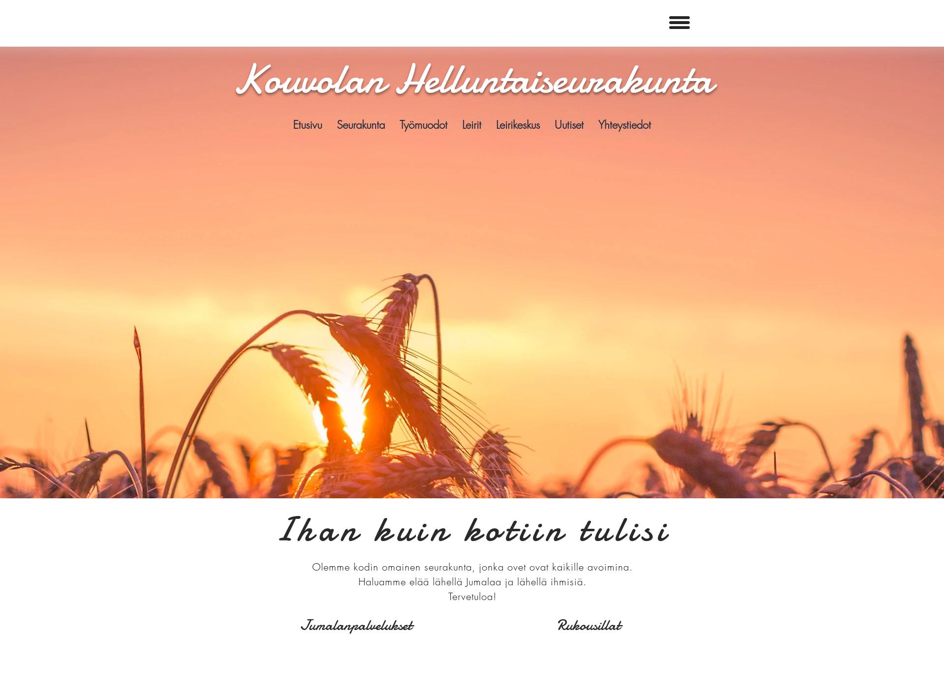Screenshot for kvlhelluntaisrk.fi