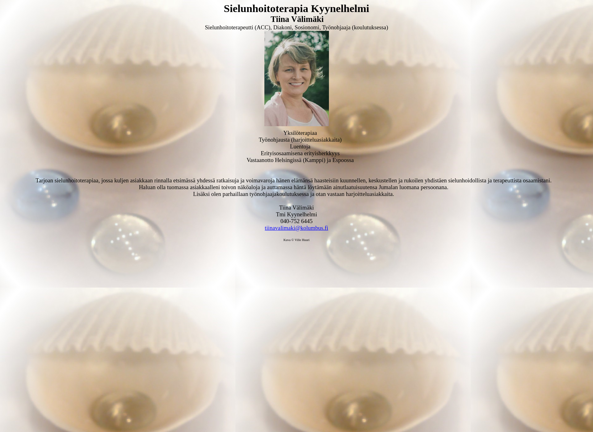 Screenshot for kyynelhelmi.fi