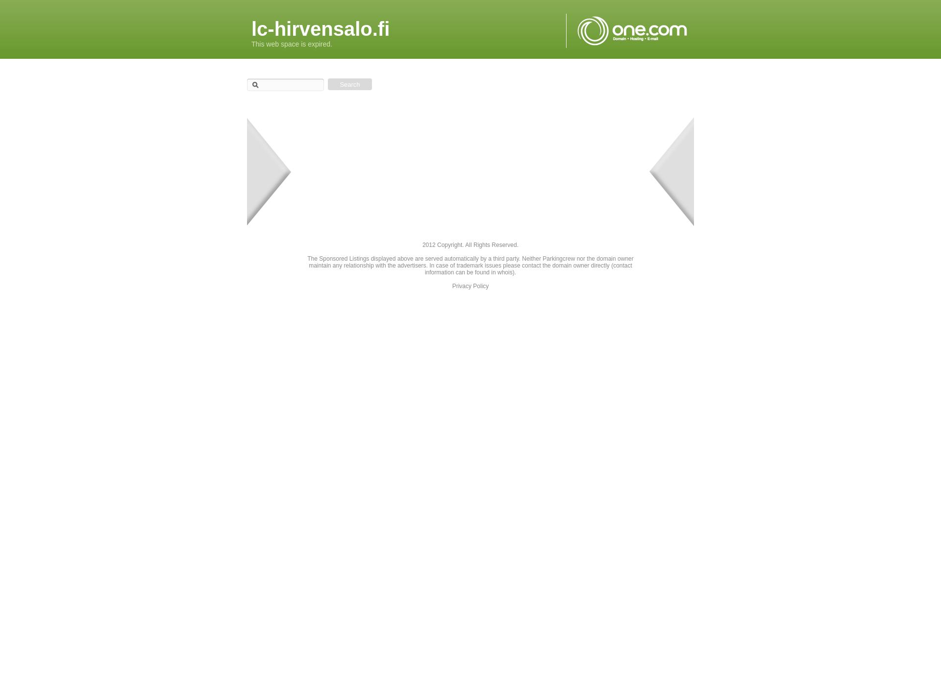 Screenshot for lc-hirvensalo.fi