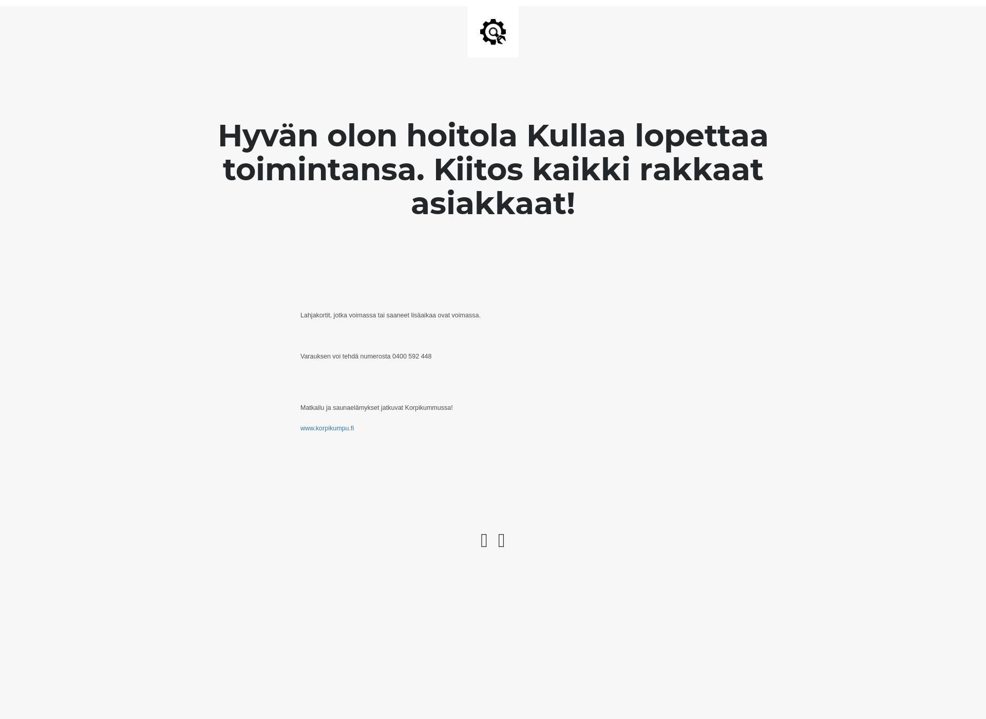Skärmdump för leilakirra.fi
