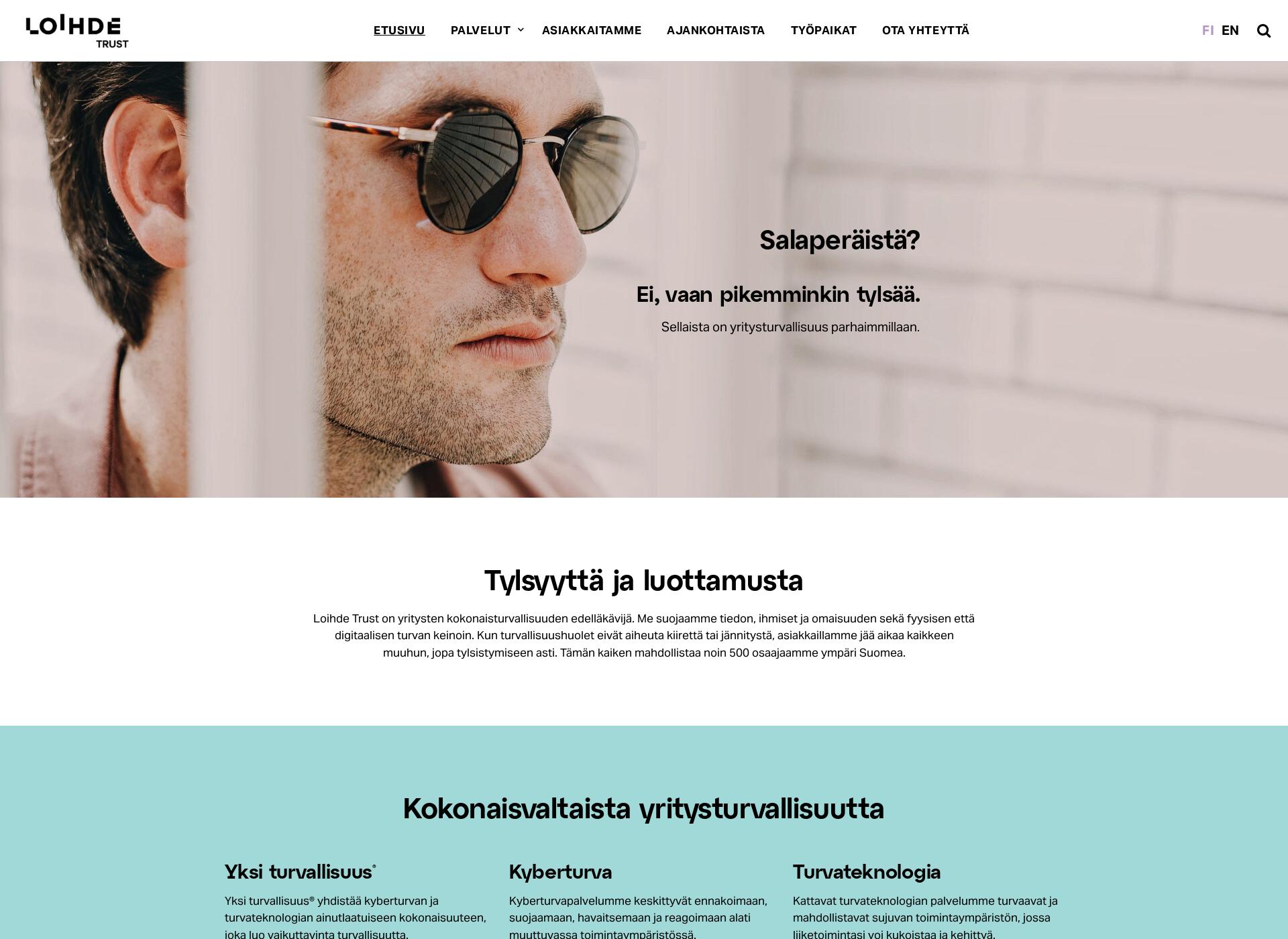 Screenshot for loihdetrust.com