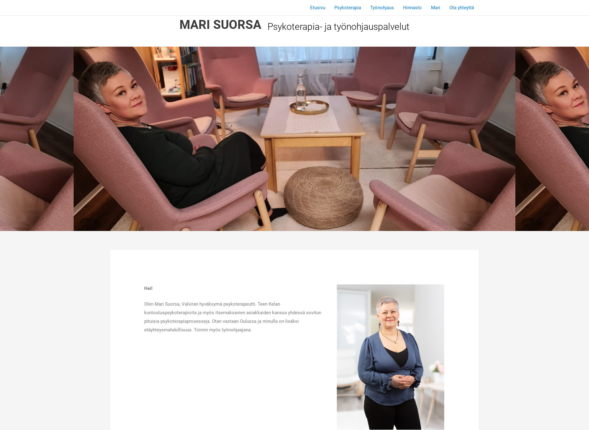 Screenshot for marisuorsa.fi