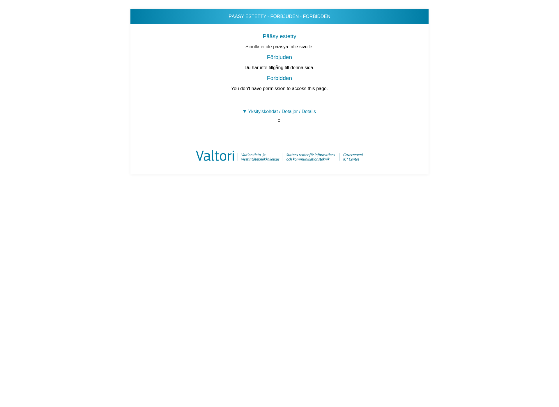 Screenshot for migri.fi