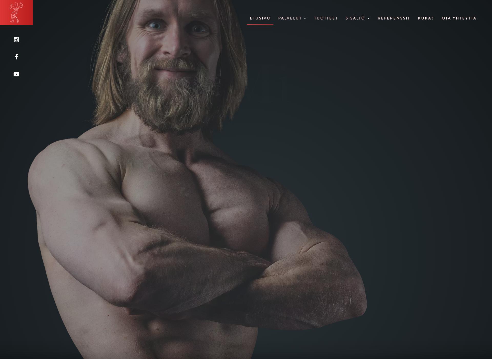 Screenshot for mikkoellmen.fi