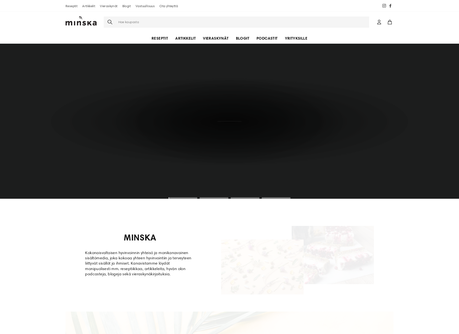 Screenshot for minska.fi