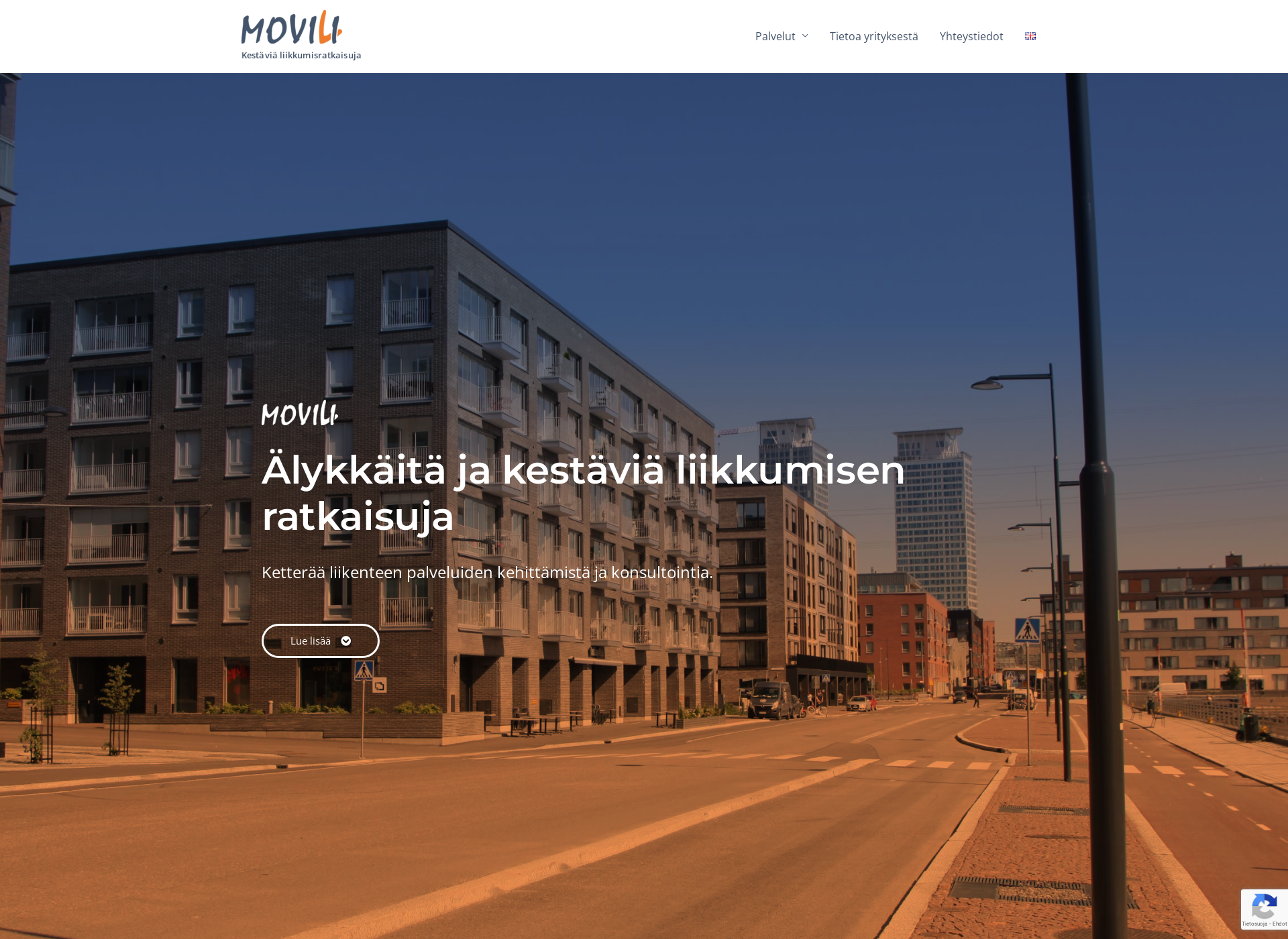 Screenshot for movili.fi