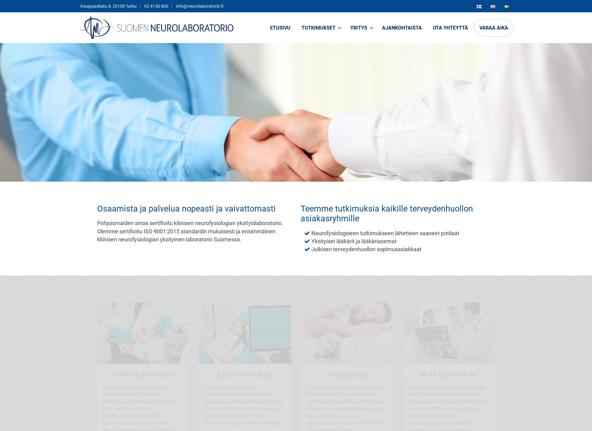 Screenshot for neurolaboratorio.fi