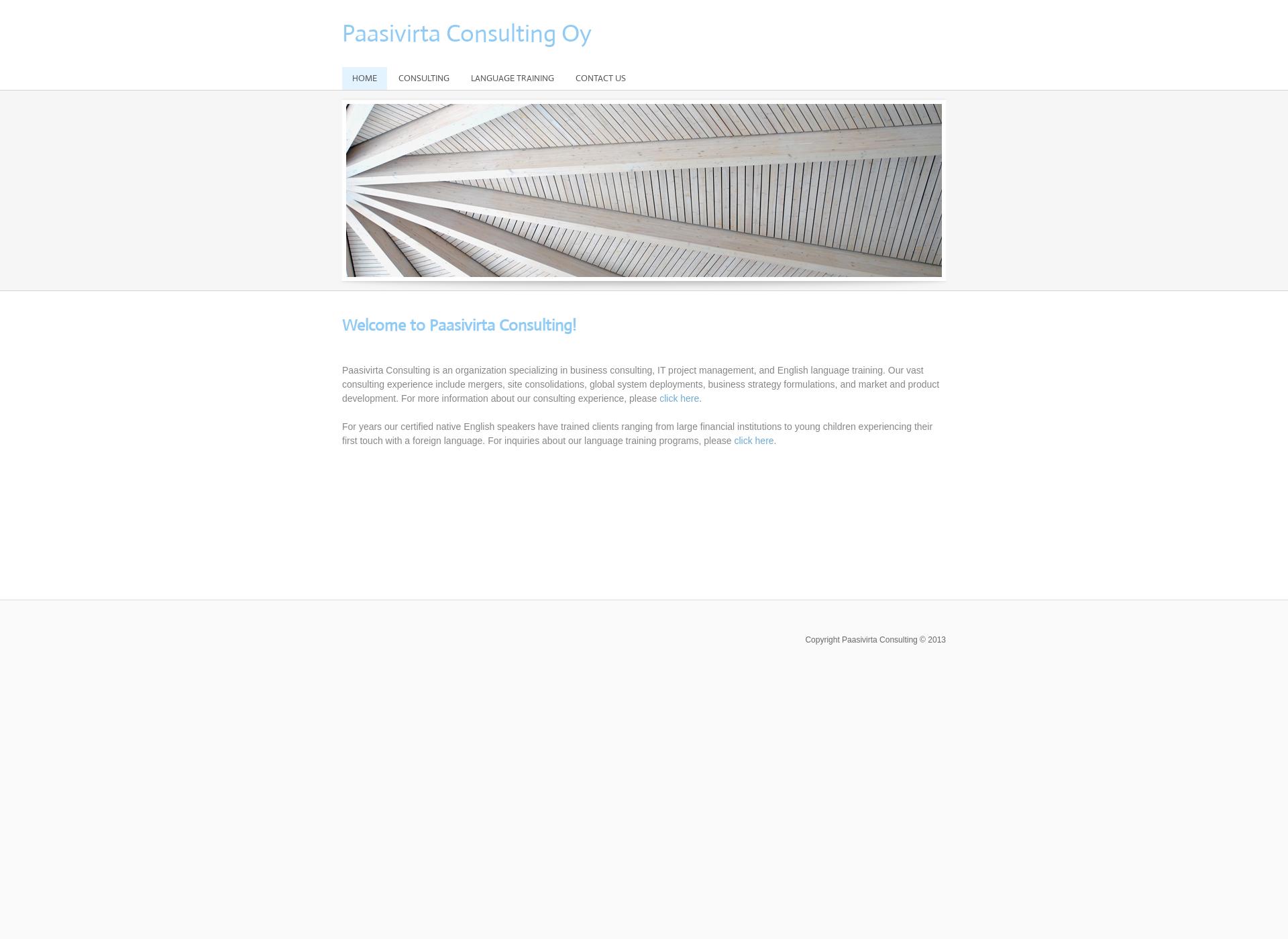 Screenshot for paasivirta.com