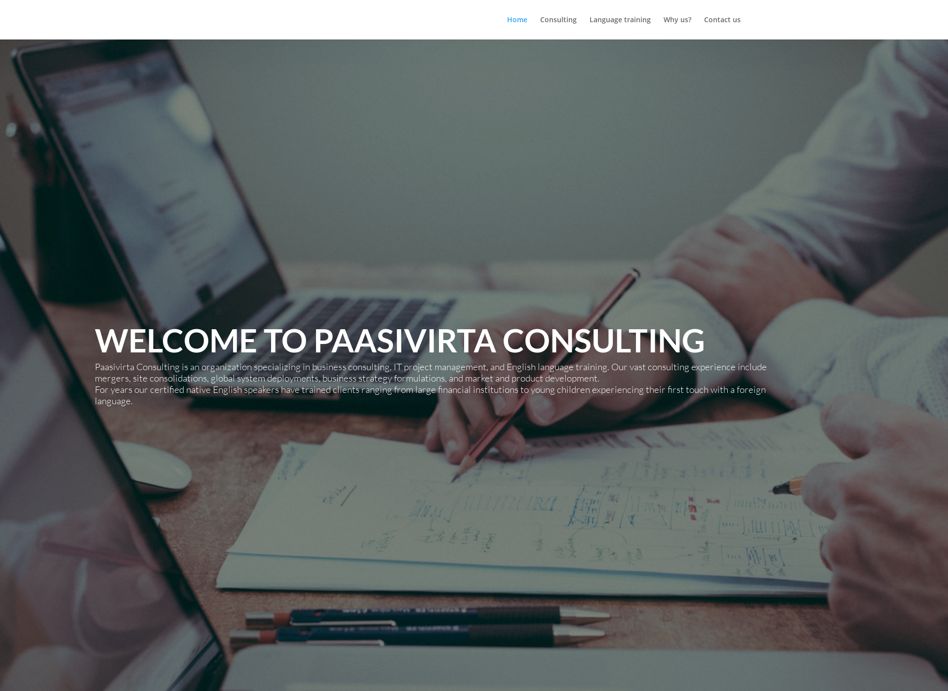 Screenshot for paasivirta.fi