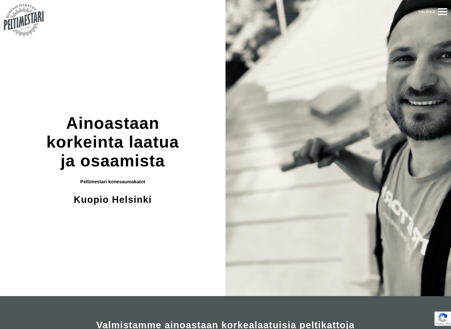 Screenshot for peltimestari.fi