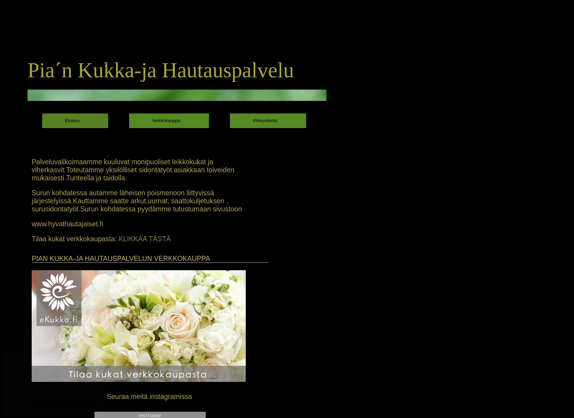 Screenshot for piankukkapuoti.fi