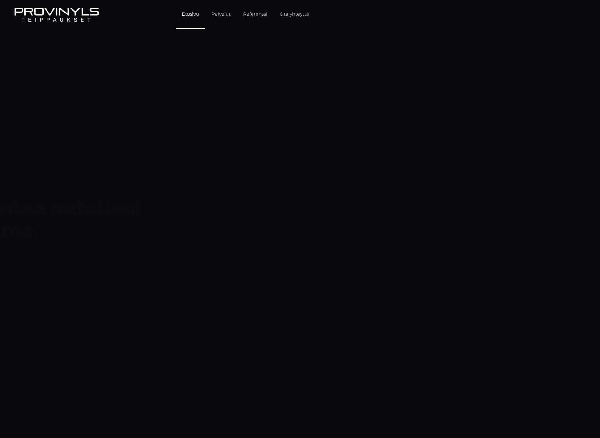 Screenshot for provinyls.fi