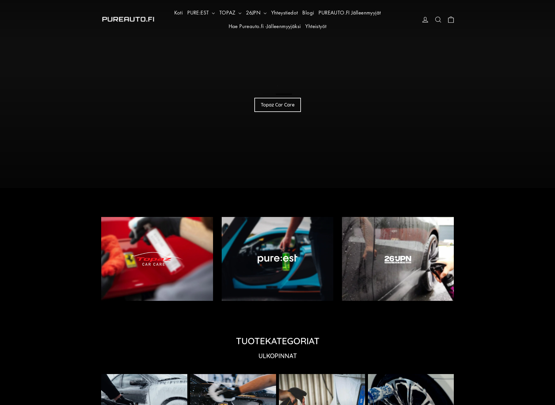 Screenshot for pureauto.fi
