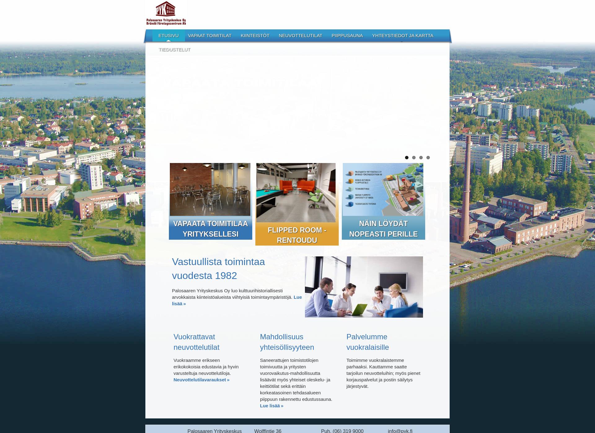 Screenshot for pyk.fi