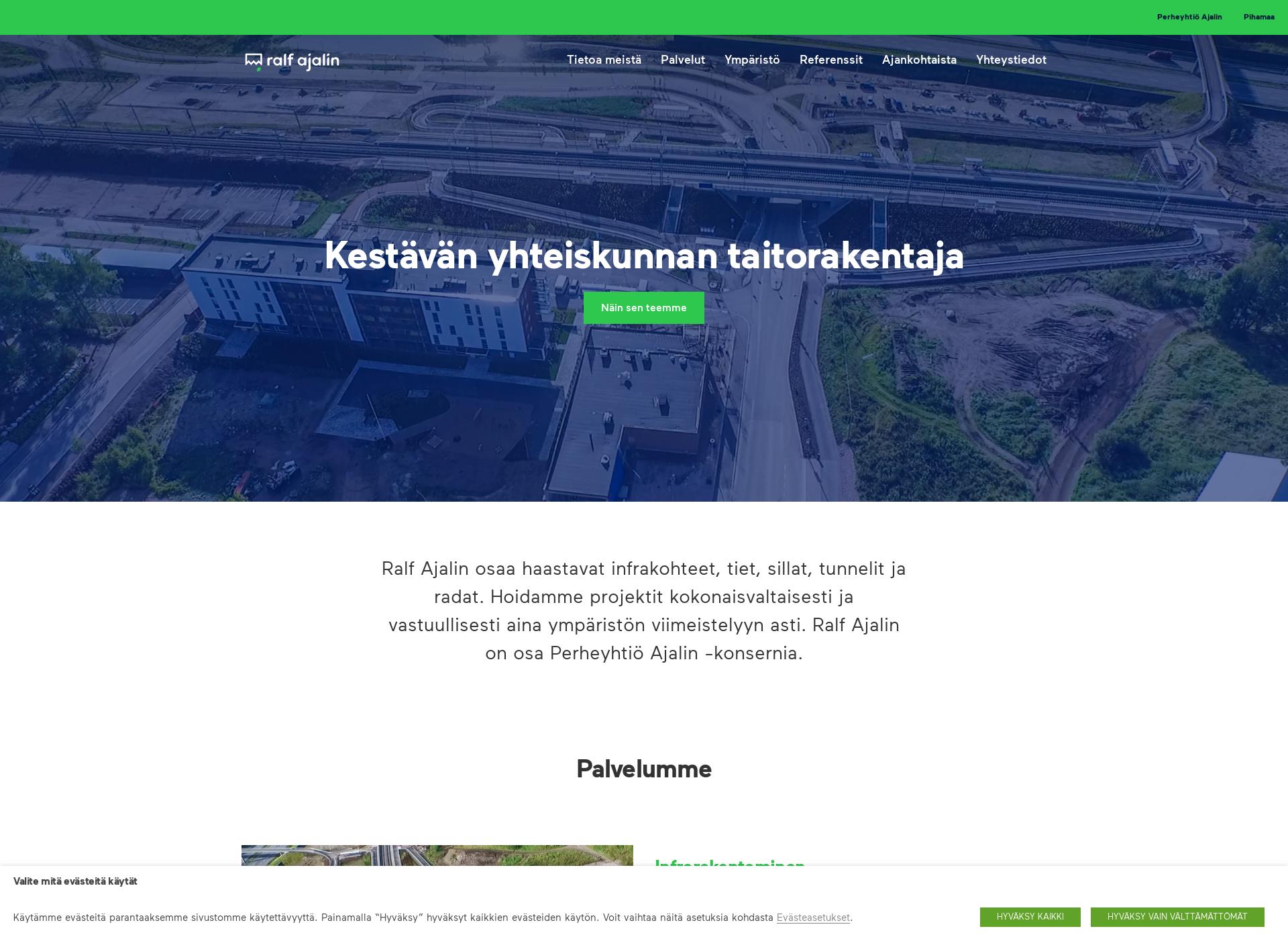 Screenshot for ralfajalin.fi