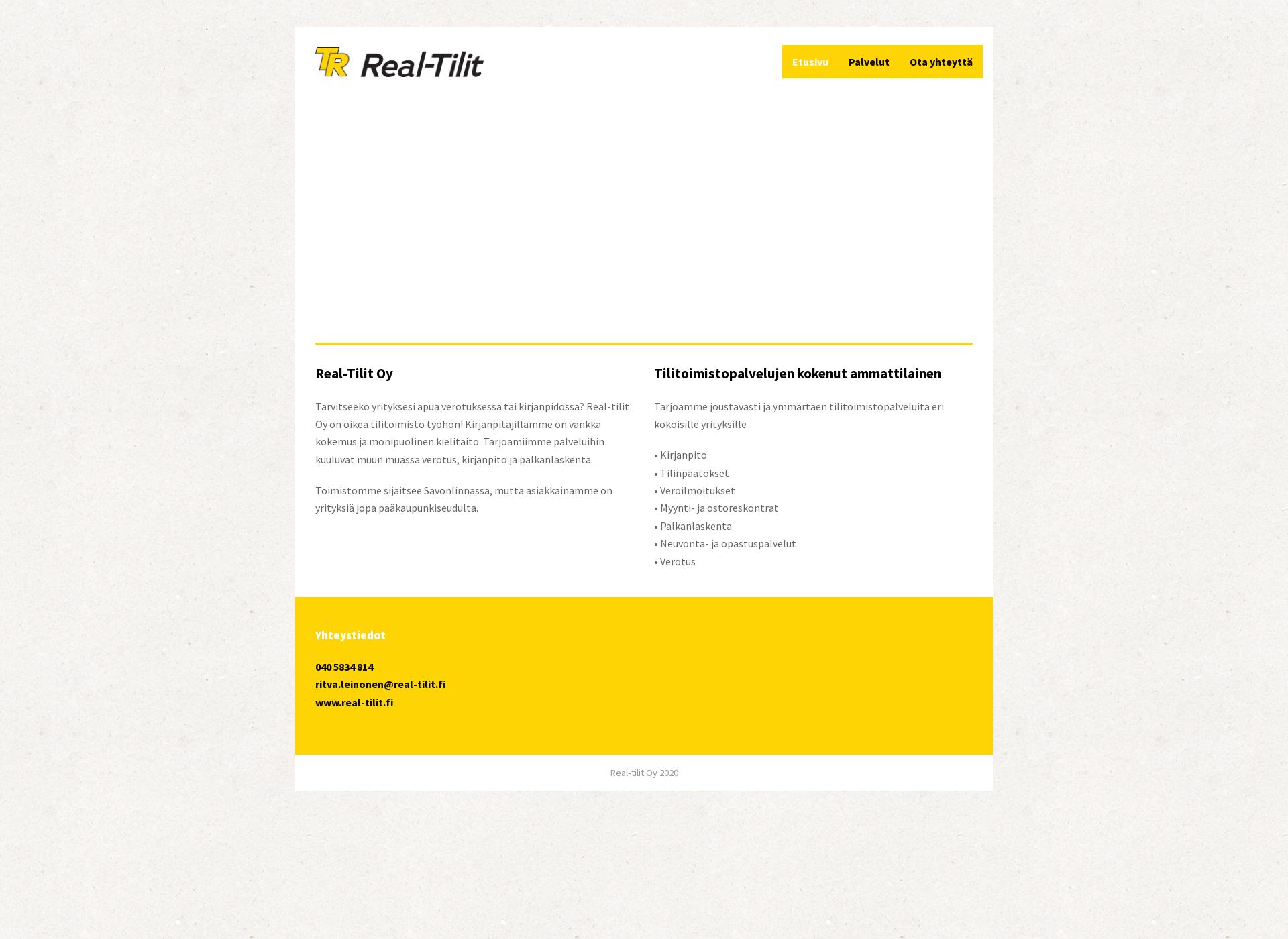 Screenshot for real-tilit.fi