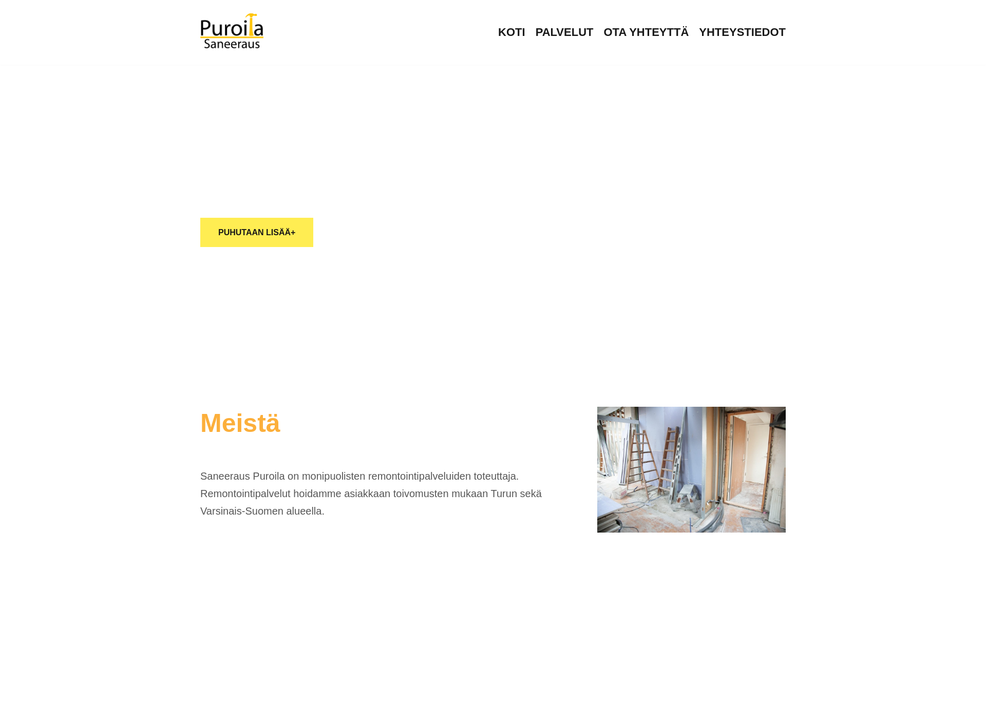 Screenshot for saneeraus-turku.fi