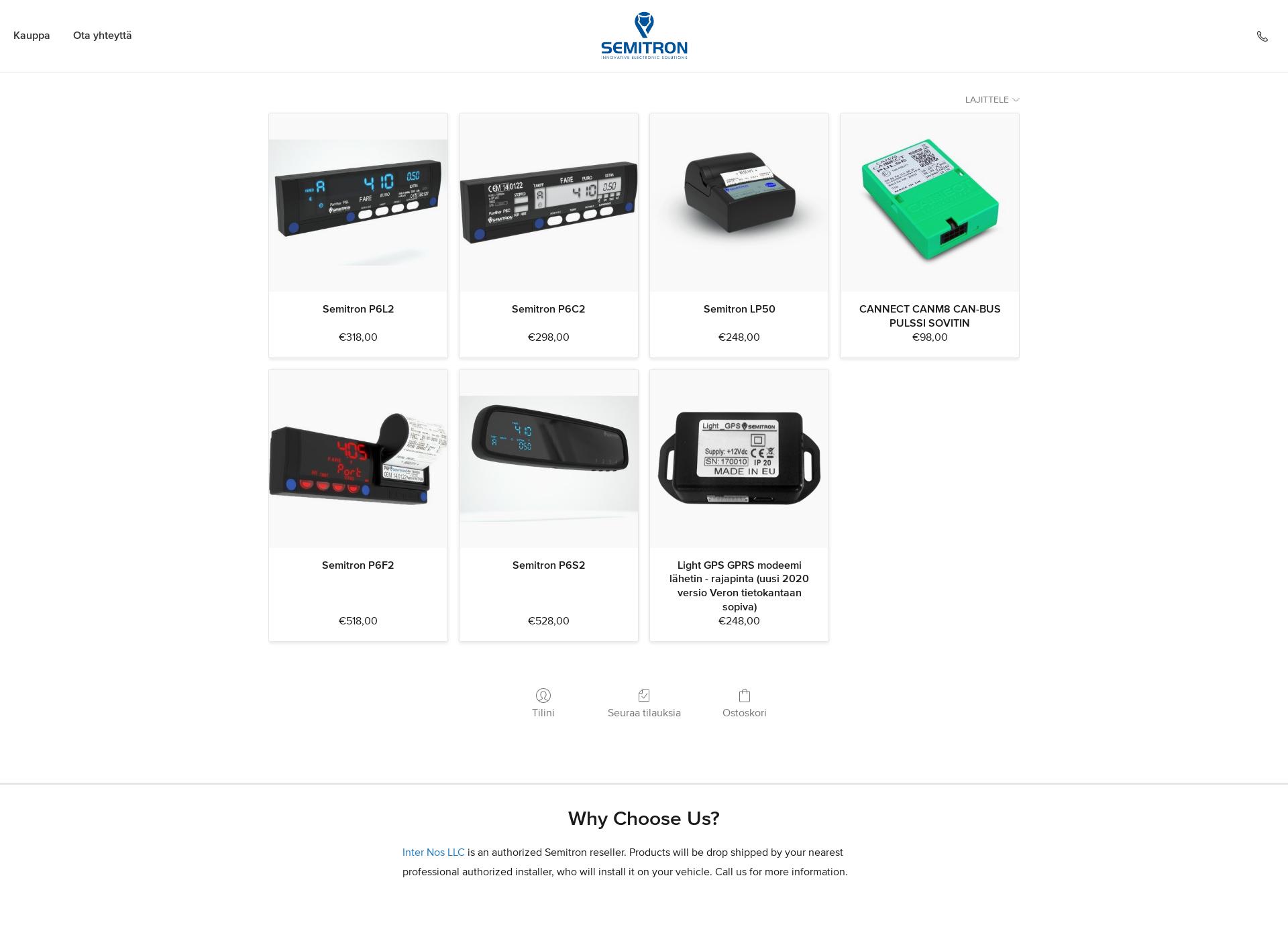 Screenshot for semitron.fi